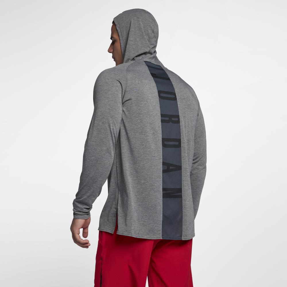 451d1fbf Nike Nike Dri-fit 23 Alpha Hooded Men's Long Sleeve Basketball Top ...
