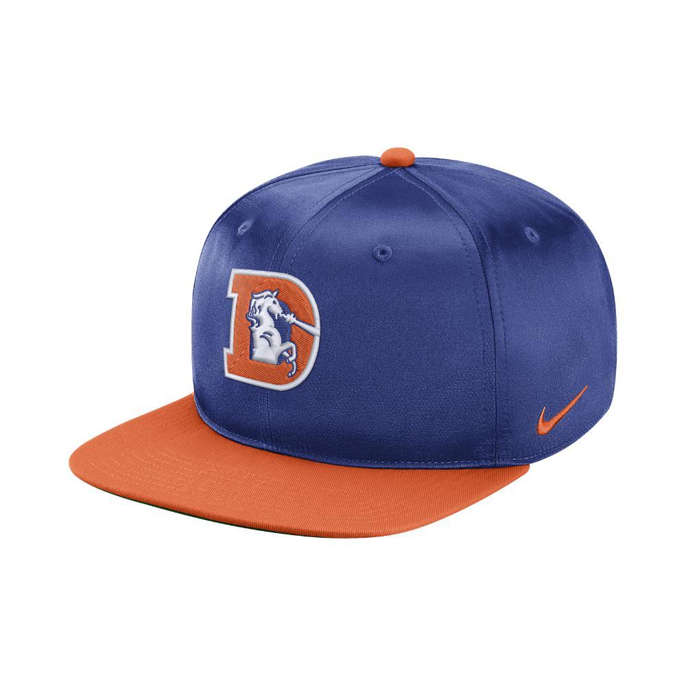 46c1535589115d Lyst - Nike Pro Historic (nfl Broncos) Adjustable Hat (blue) in Blue ...