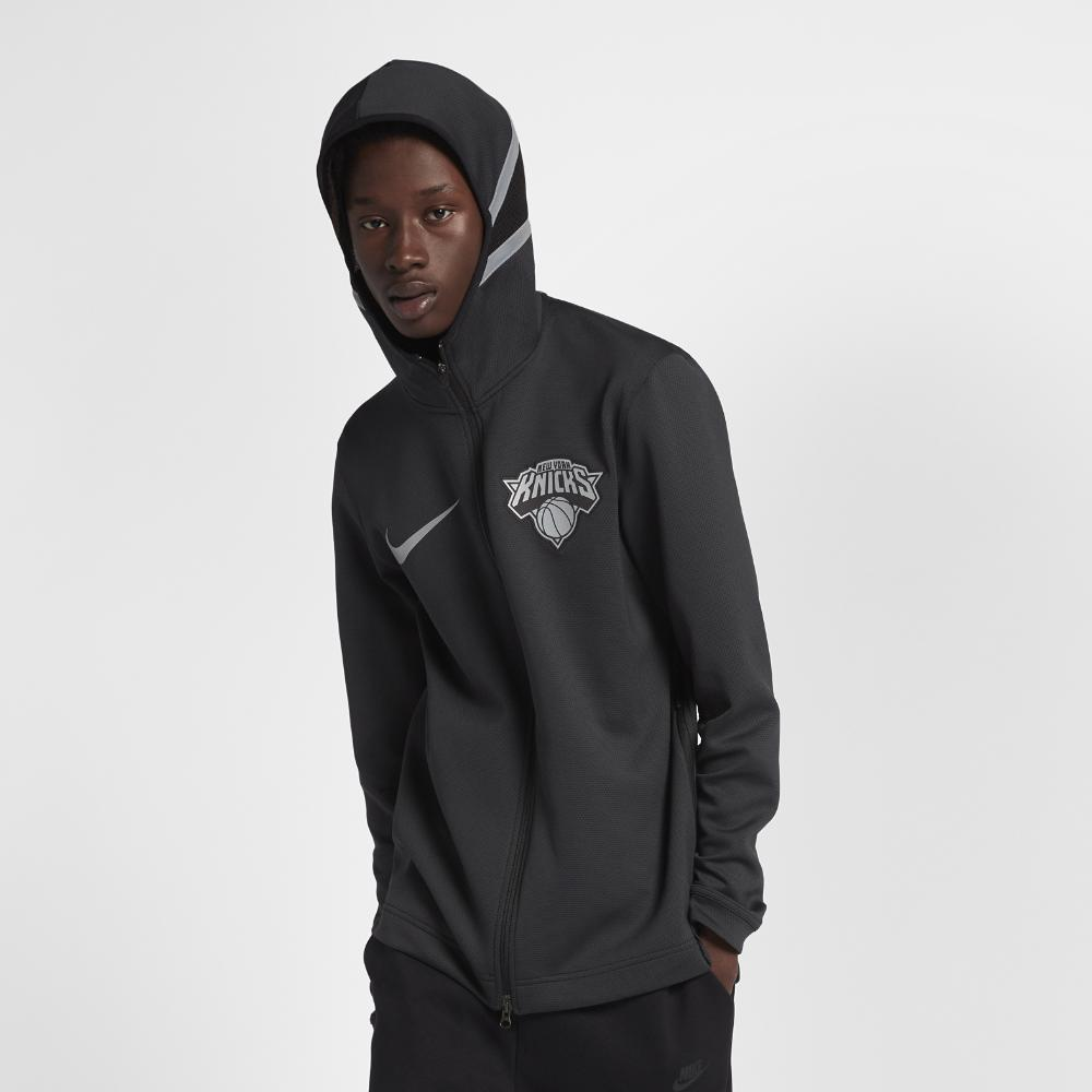 fc41808c8 Lyst - Nike New York Knicks Therma Flex Showtime Men s Nba Hoodie in ...