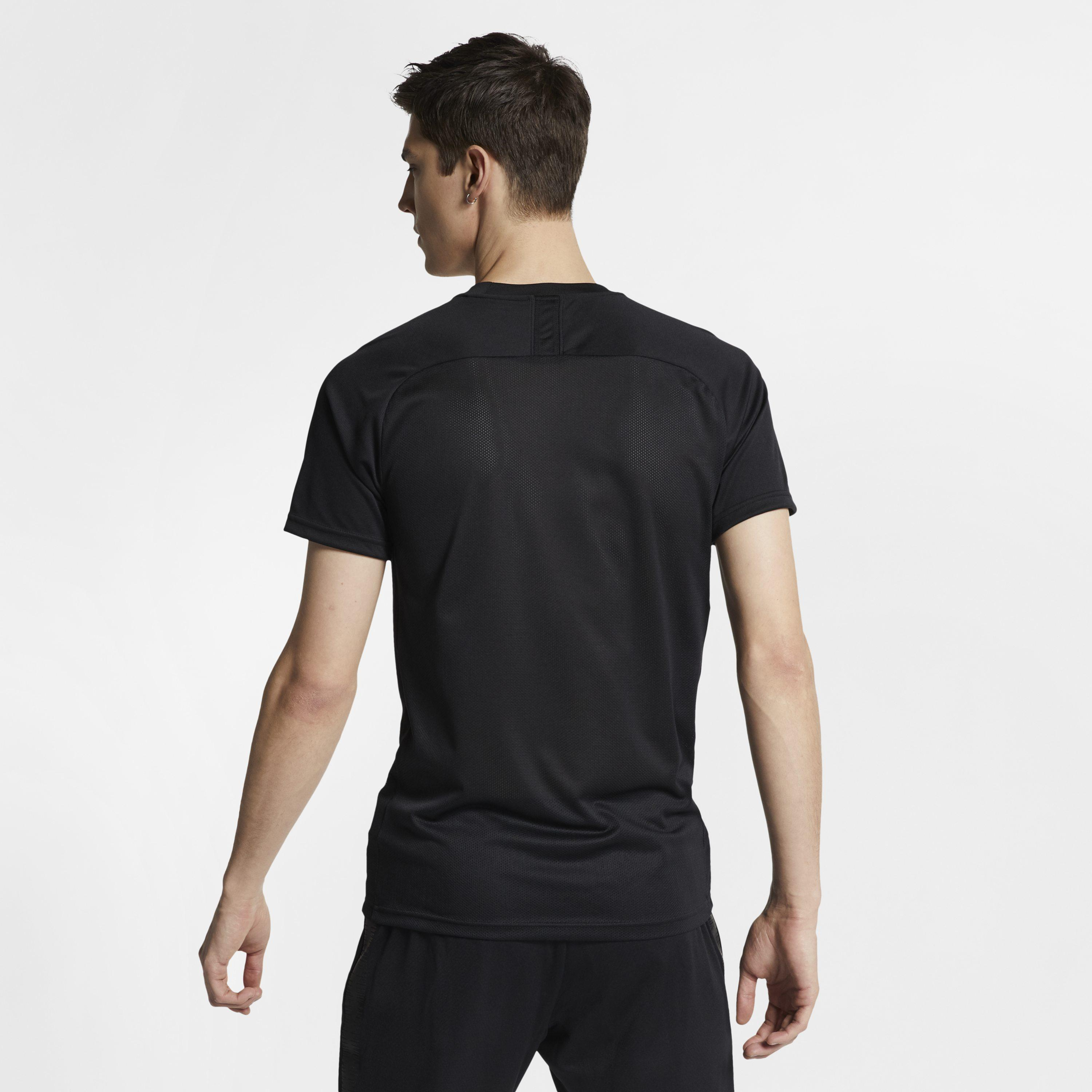 41781ac0 Source · Nike Dri fit Academy Football Short sleeve Top in Black for Men  Lyst