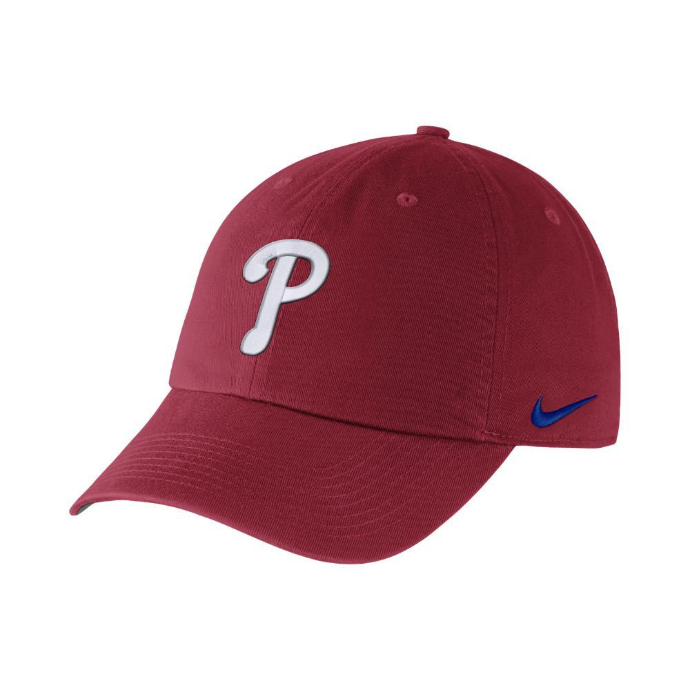 73d35a9ac5d2 Lyst - Nike Heritage 86 Stadium (mlb Phillies) Adjustable Hat (red ...
