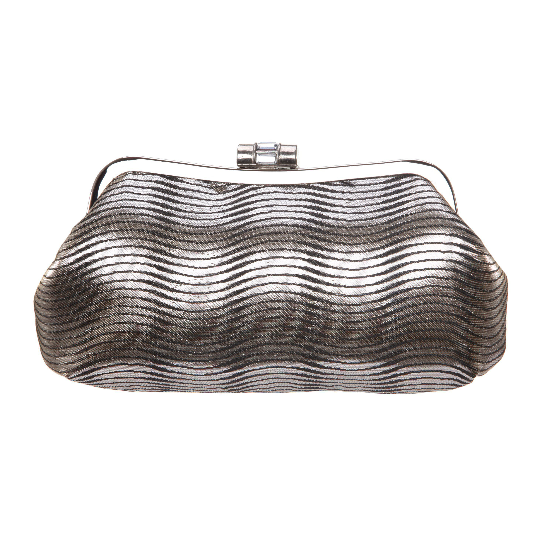 Nina Gadsden (Black Metallic) Clutch Handbags AYQ3Aov1W