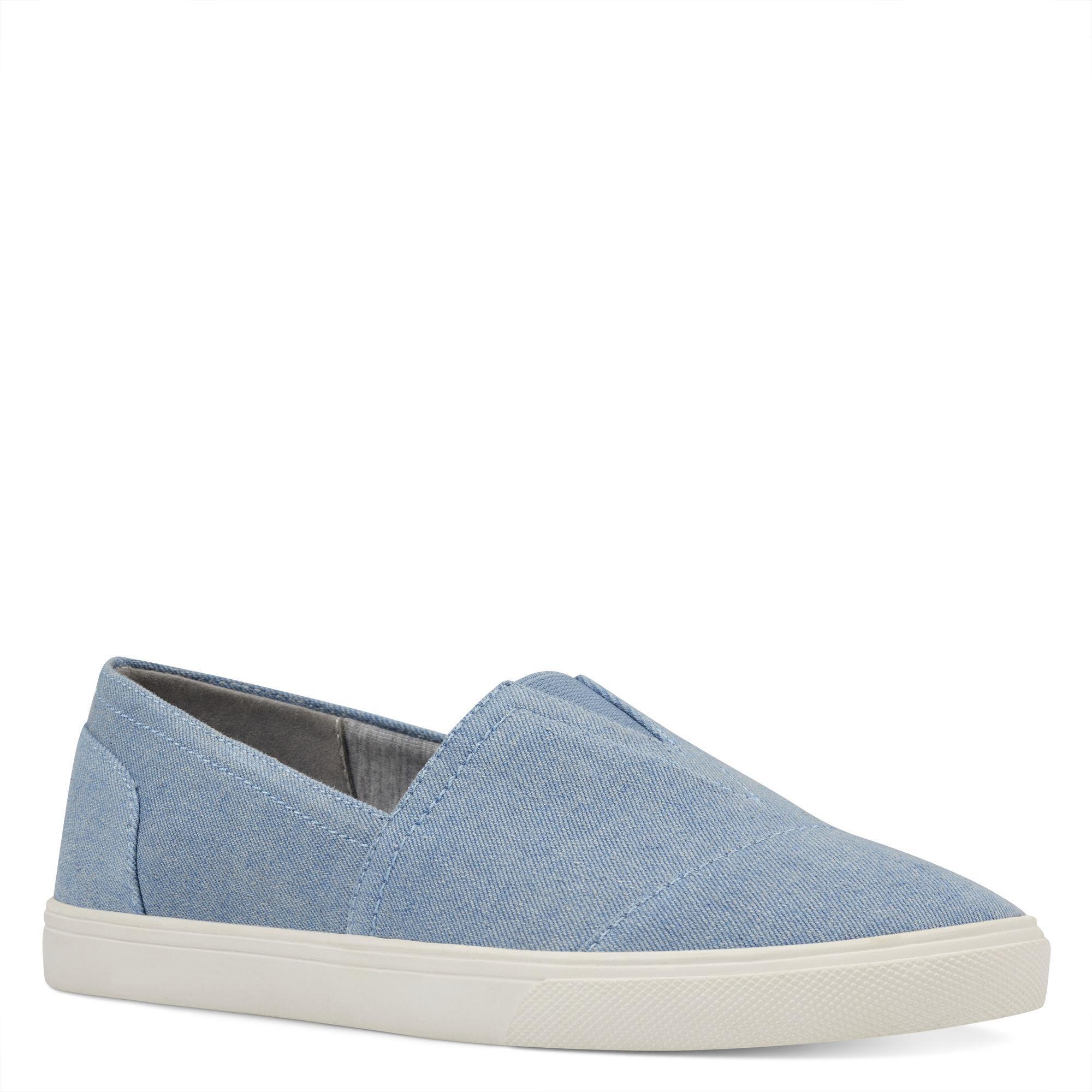 c031c62b073 Lyst - Nine West Bolla Slip-on Sneakers in Blue