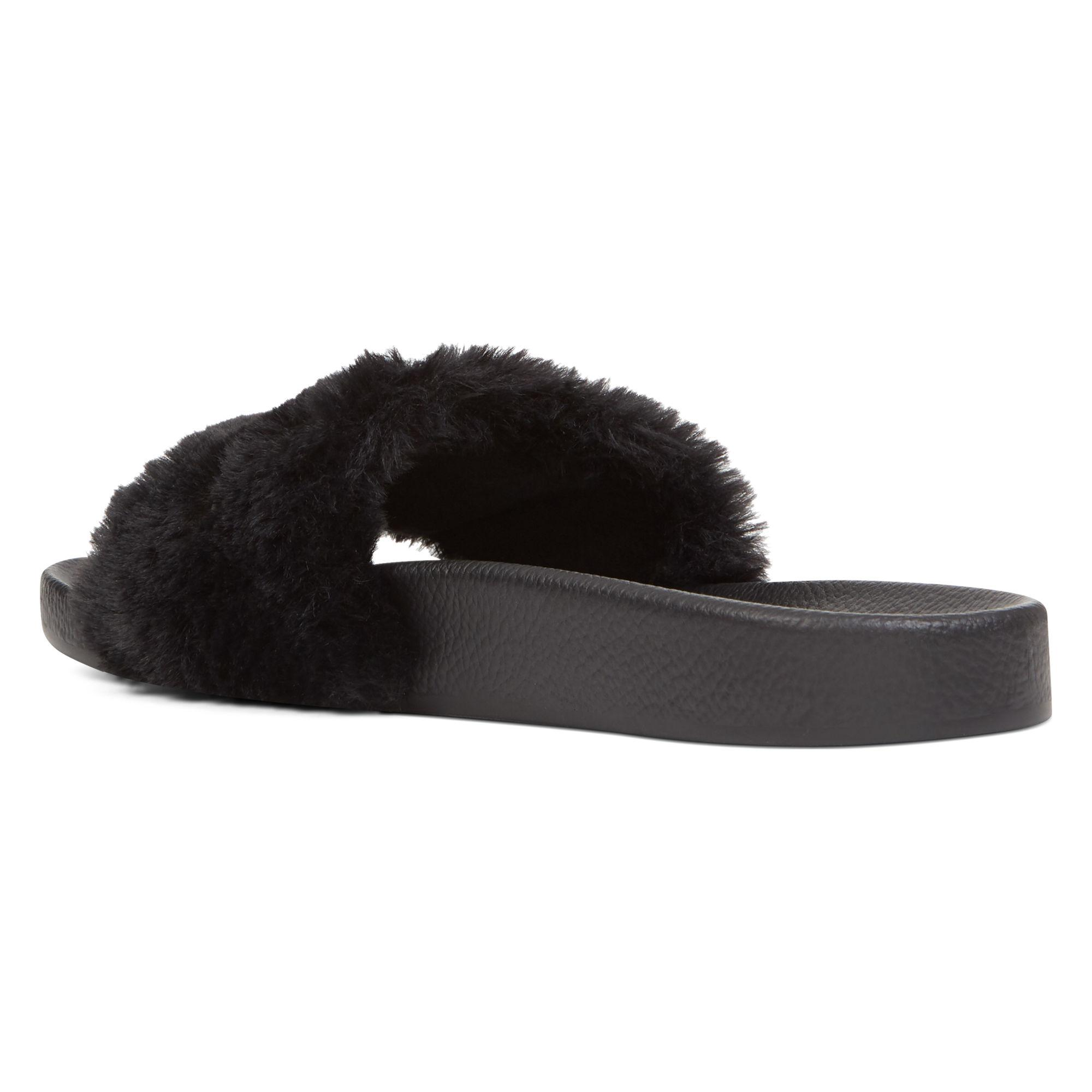 1d4f4482b3b Lyst - Nine West Sheslides Slippers in Black