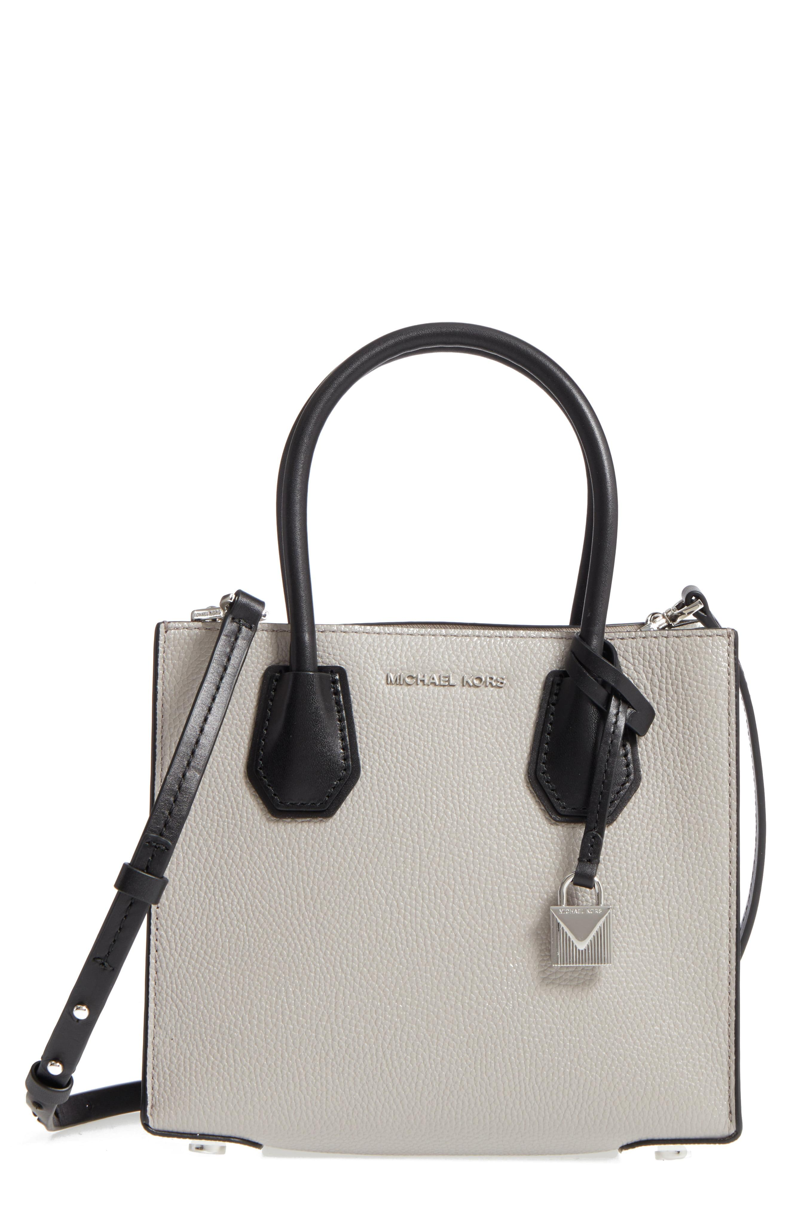 6e1fa4108ebb Lyst - MICHAEL Michael Kors Medium Mercer Leather Tote in Black