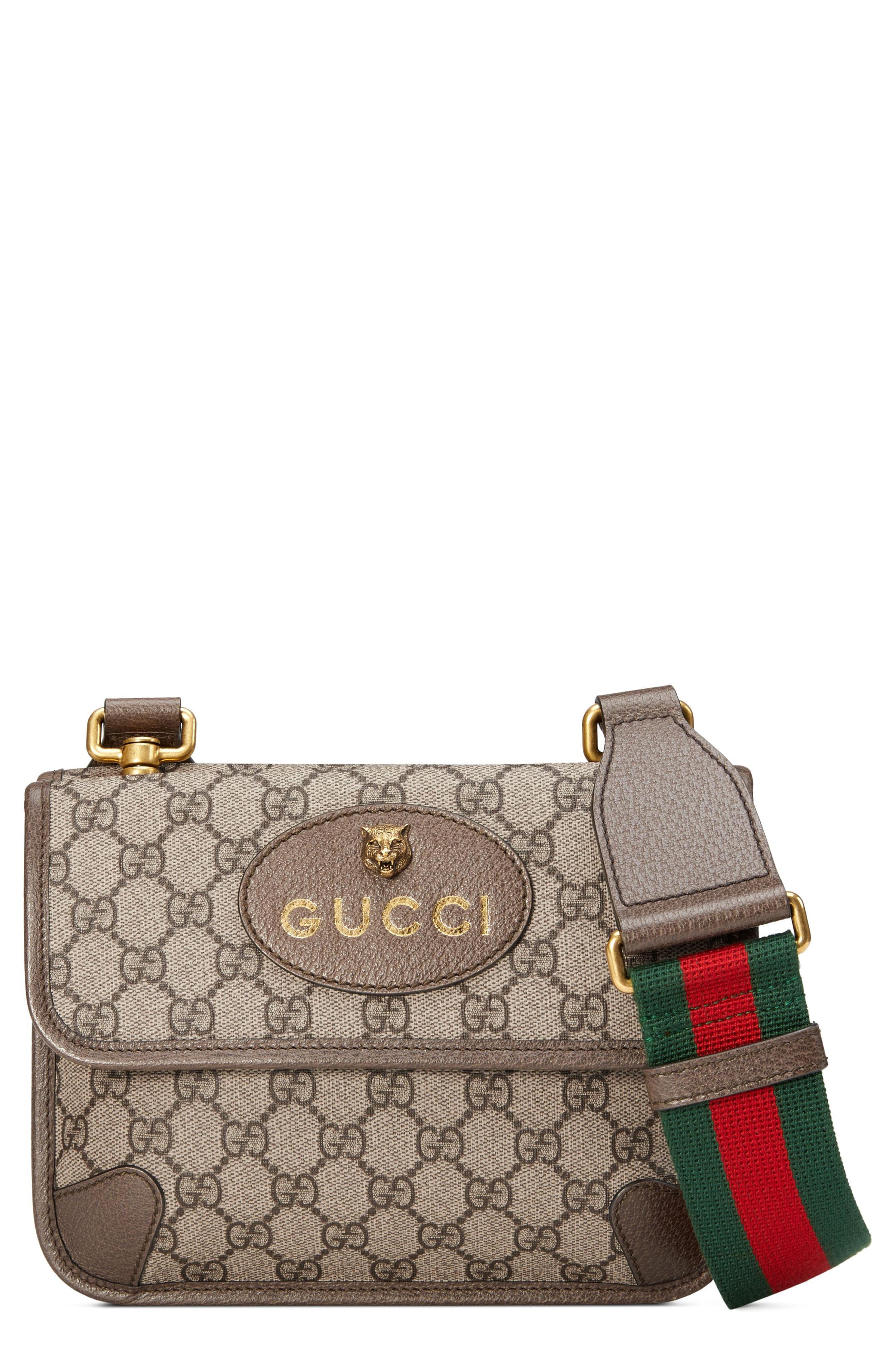 f54d395fad7 Gucci. Women s Small Gg Supreme Canvas Messenger Bag
