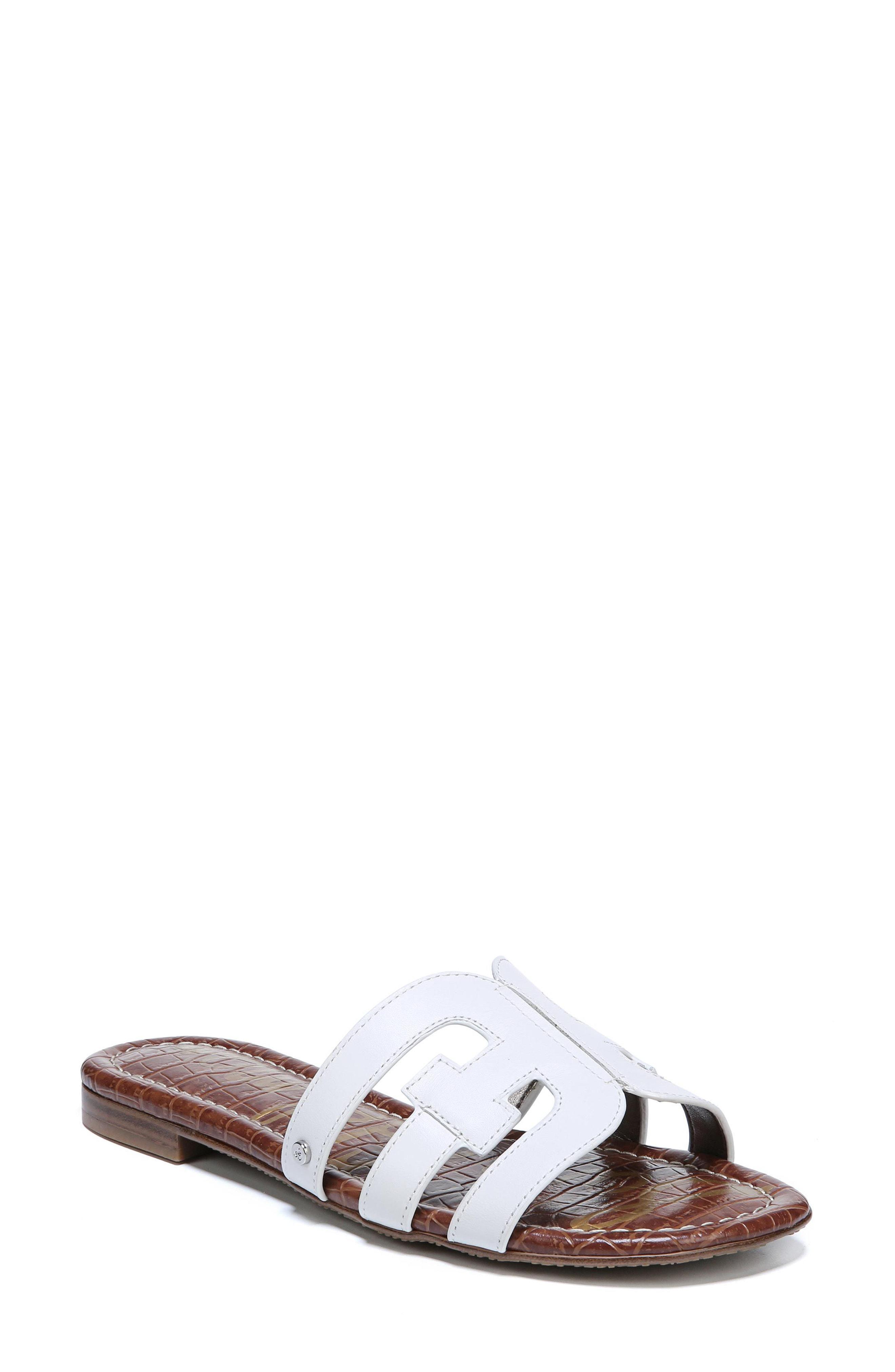 08dc37953 Sam Edelman Bay Slide Sandal in White - Lyst