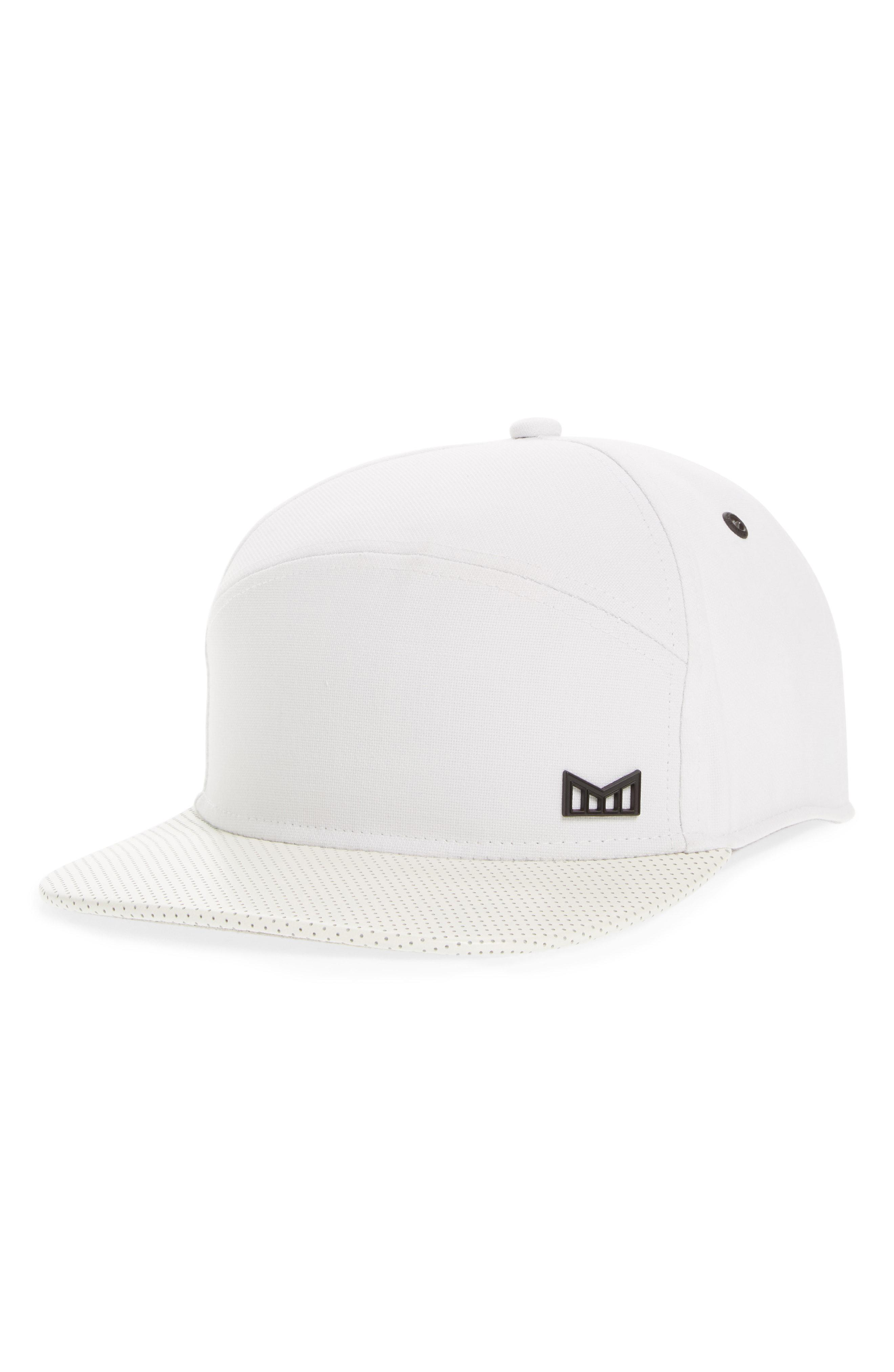 best service e18f1 ef6d6 get melin glory days strapback baseball cap af866 acfe7  promo code lyst  melin the vision horizon fit flat brim baseball cap in 3ac67 f86e6