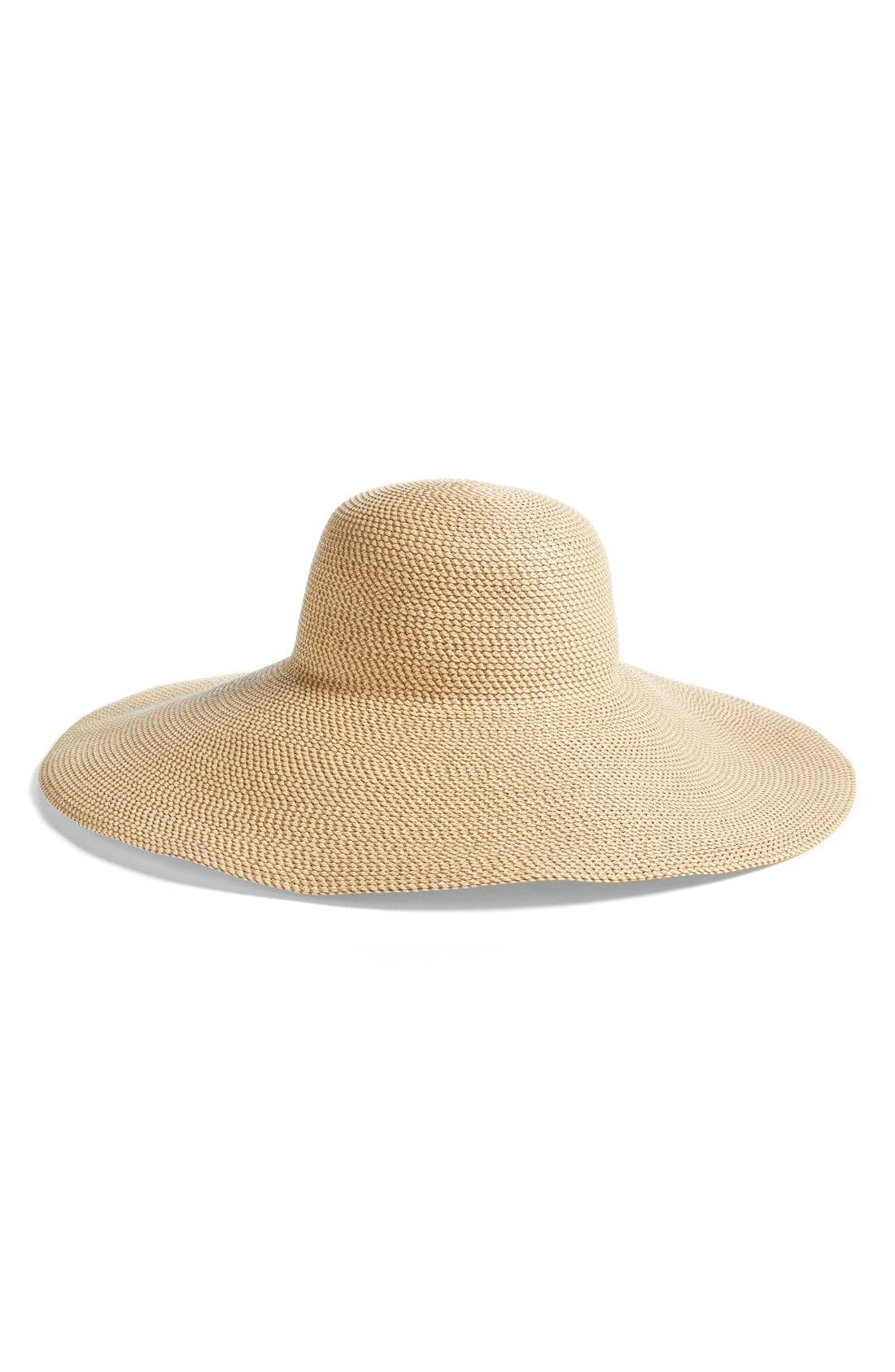a590bcfbc2e Lyst - Eric Javits Floppy Straw Hat in Natural