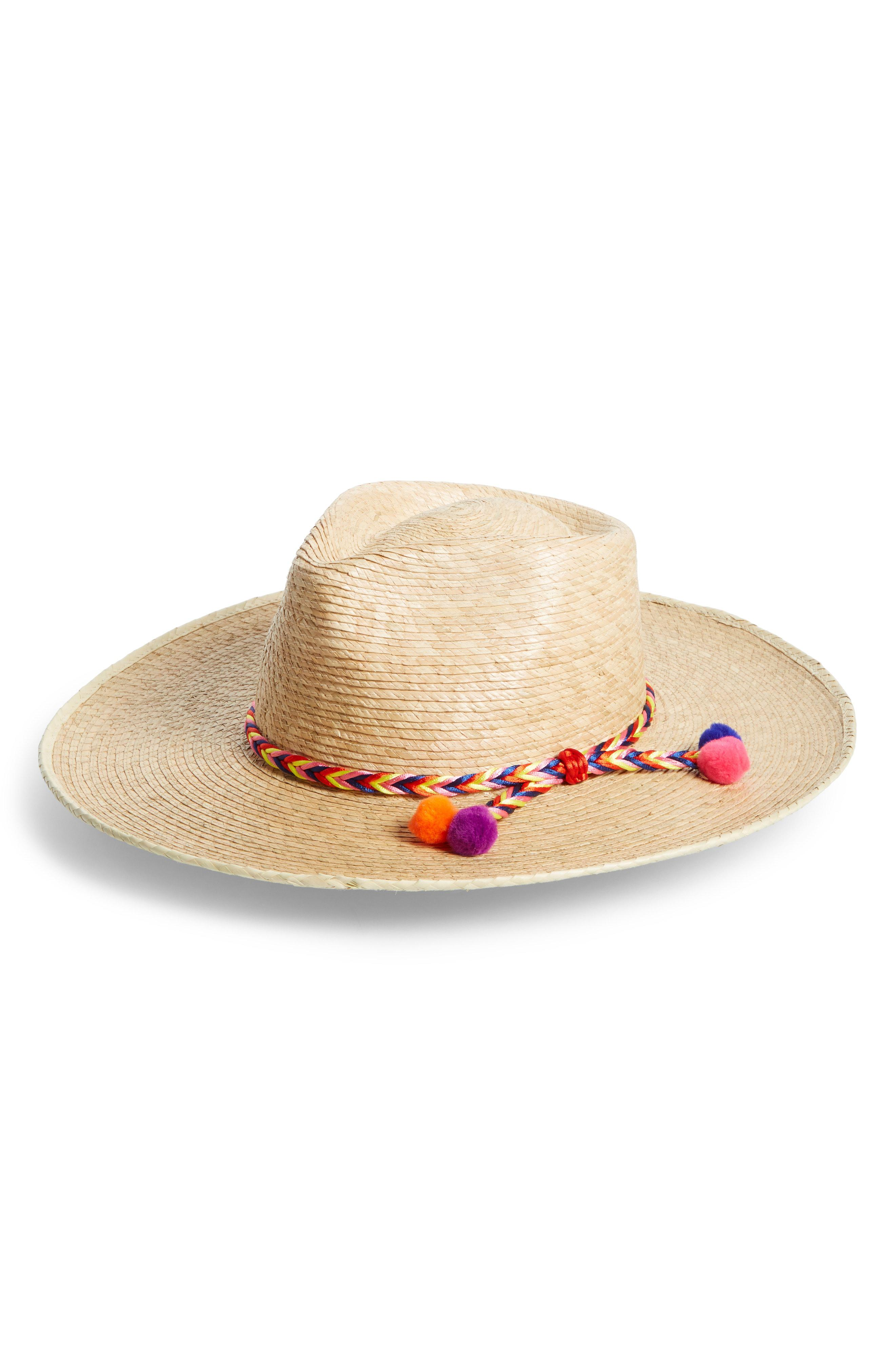 Lyst - Brixton Joanna Palm Hat in Natural 347b0e31bf8