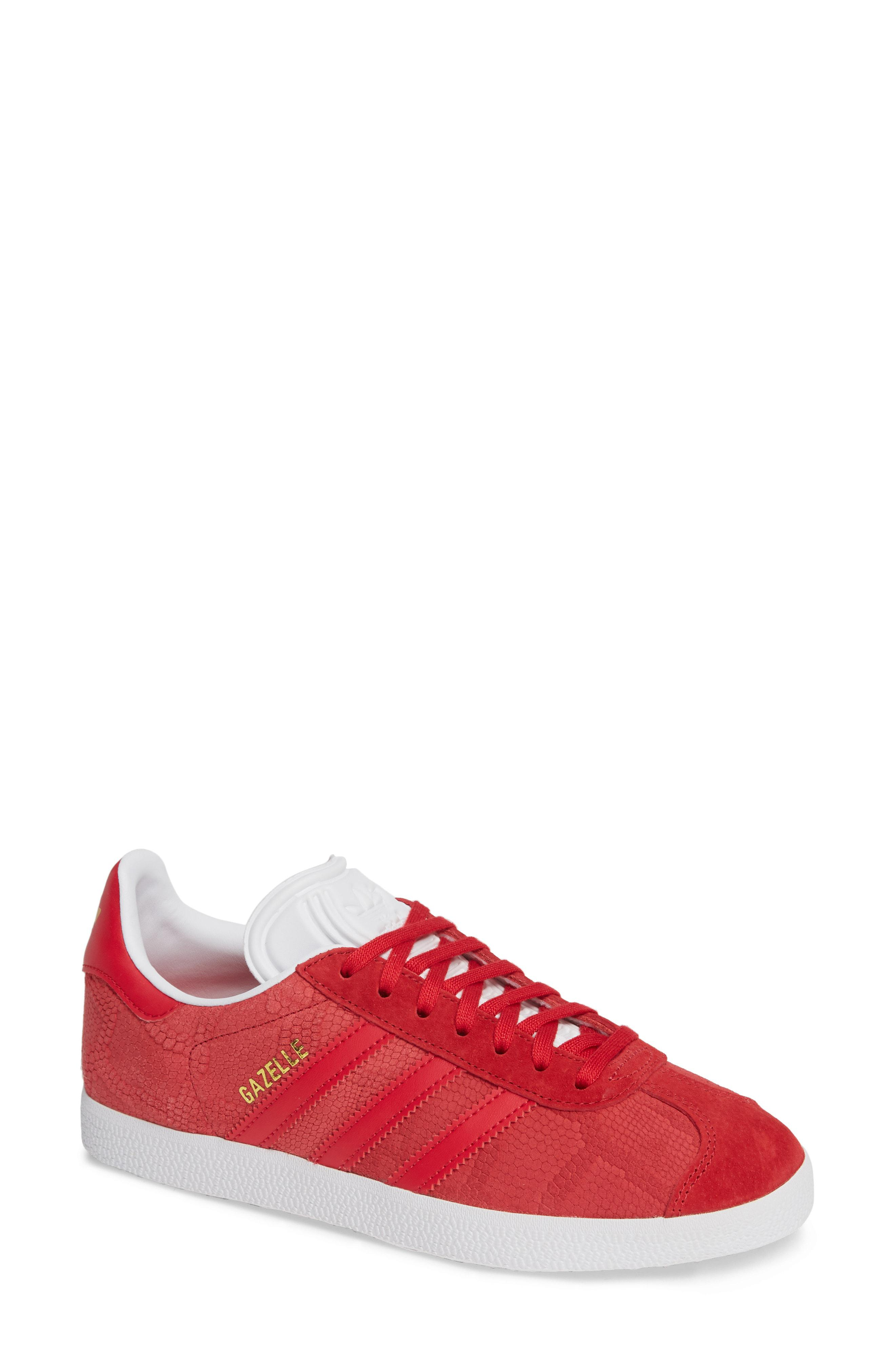 new products 9c485 2bf9f adidas. Women s Red Gazelle Sneaker