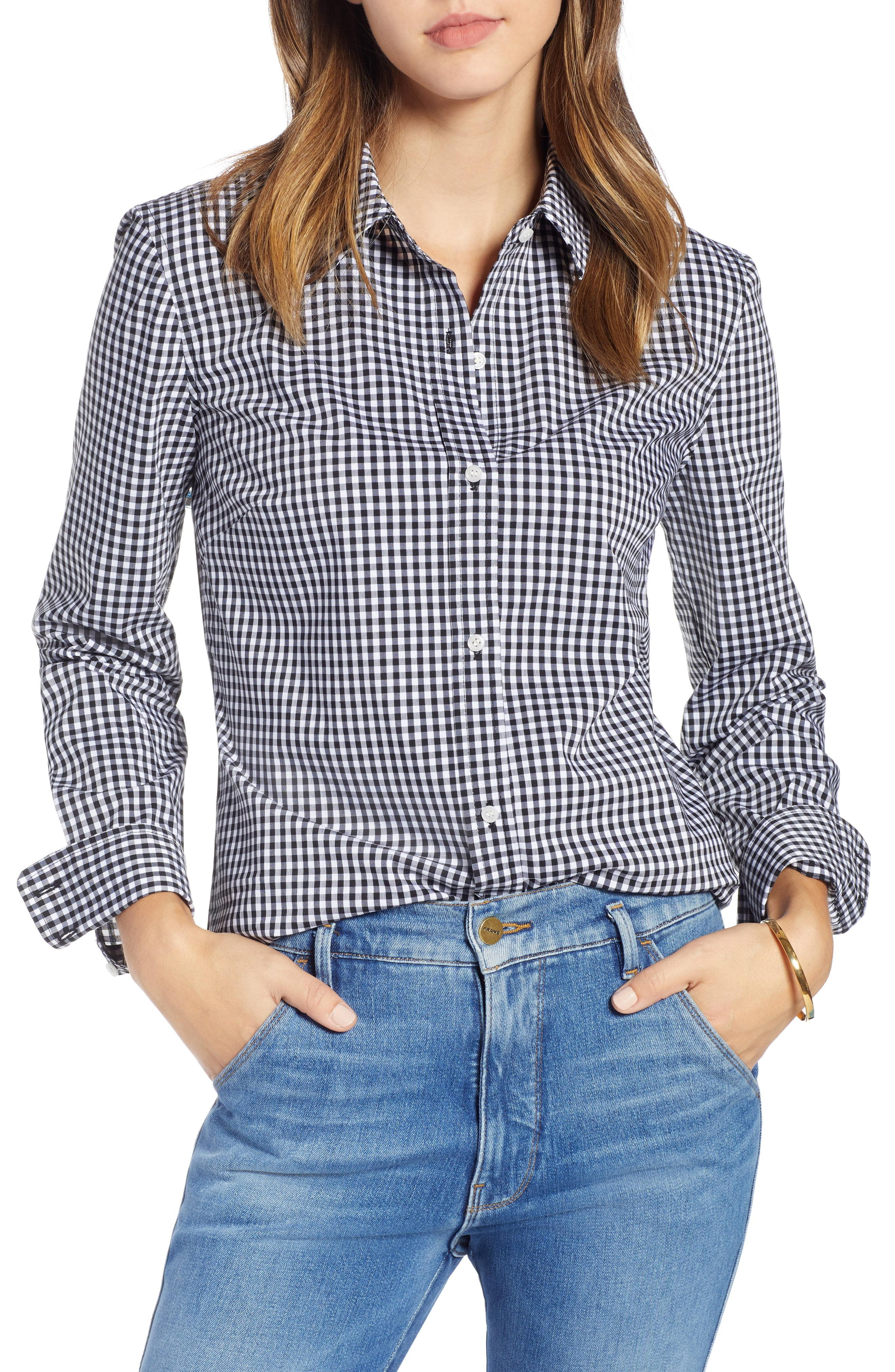 c16861d81d Lyst - Nordstrom 1901 Stretch Cotton Blend Shirt in Blue - Save 61%