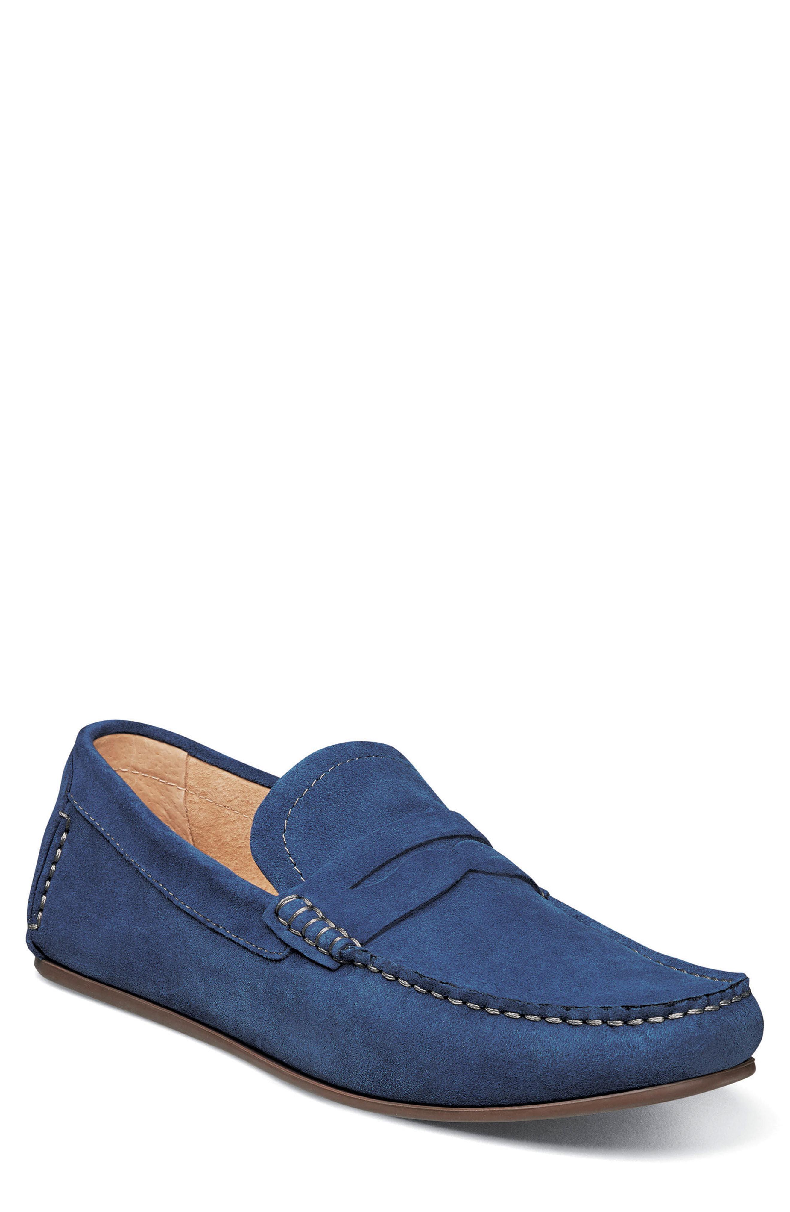 d1cb3cee924 Lyst - Florsheim Denison Driving Loafer in Blue for Men