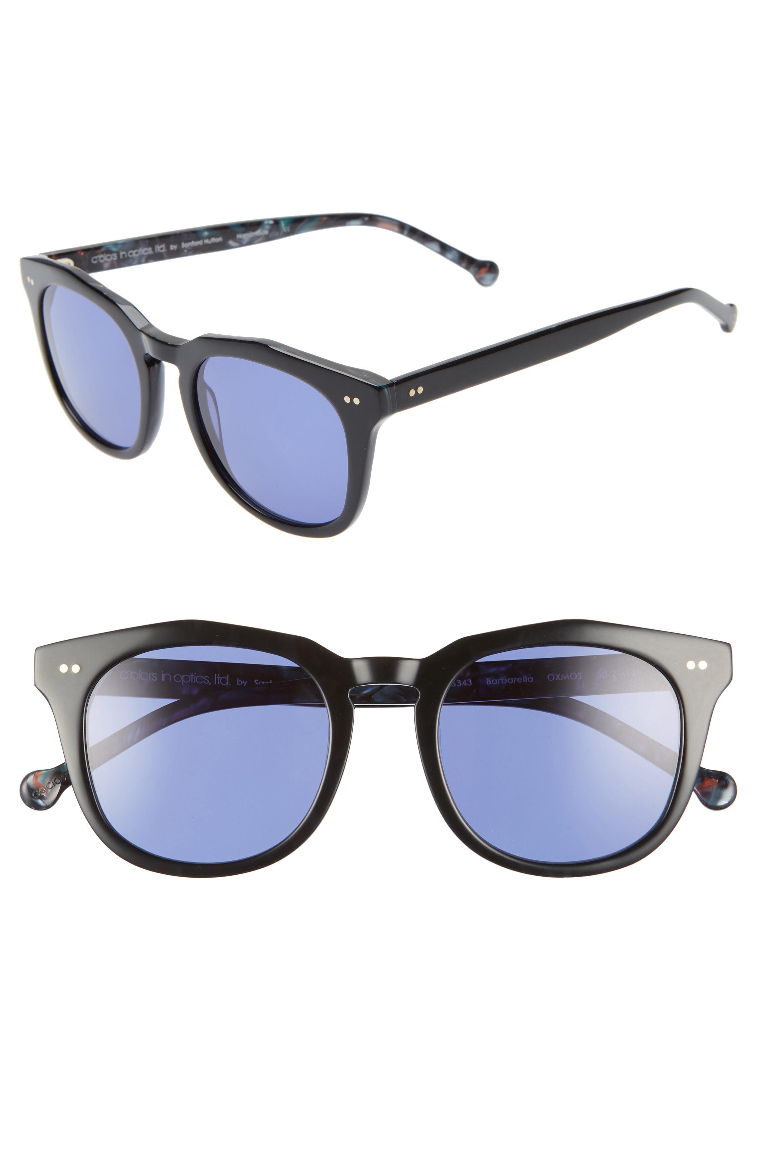 e27428a78f4 Lyst - Colors In Optics Barbarella 50mm Sunglasses in Blue