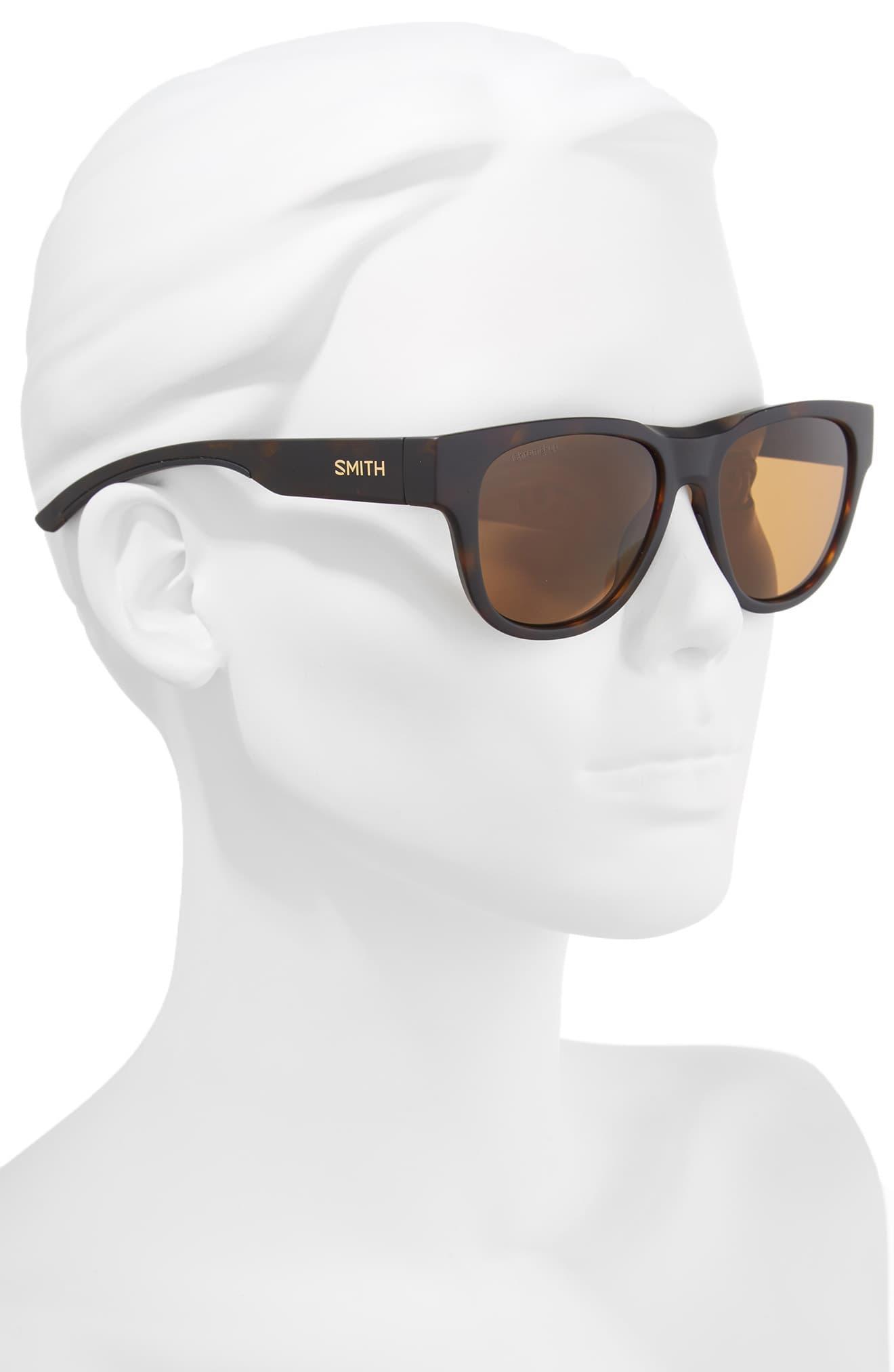 61d68f2563 Smith - Brown Rounder 52mm Chromapop Polarized Sunglasses - Lyst. View  fullscreen