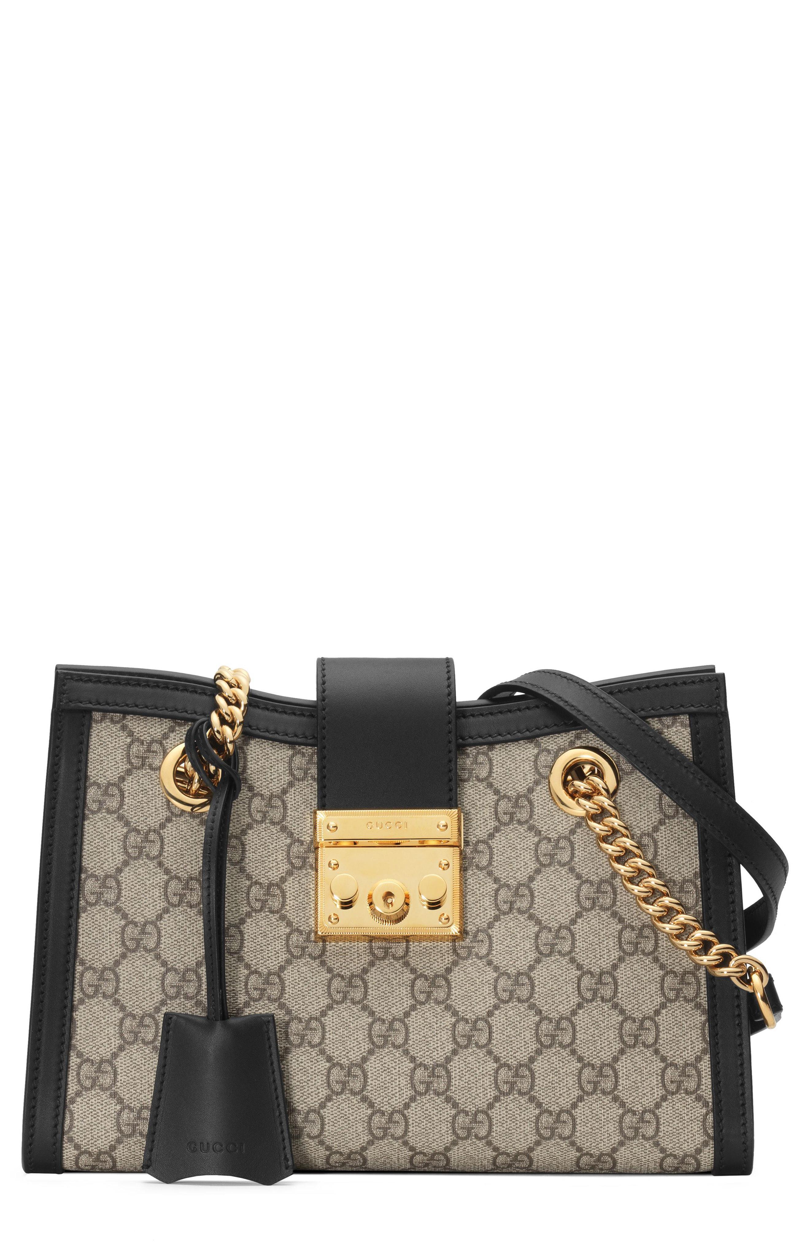 6c838fa1877d Gucci. Women s Padlock Small GG Shoulder Bag