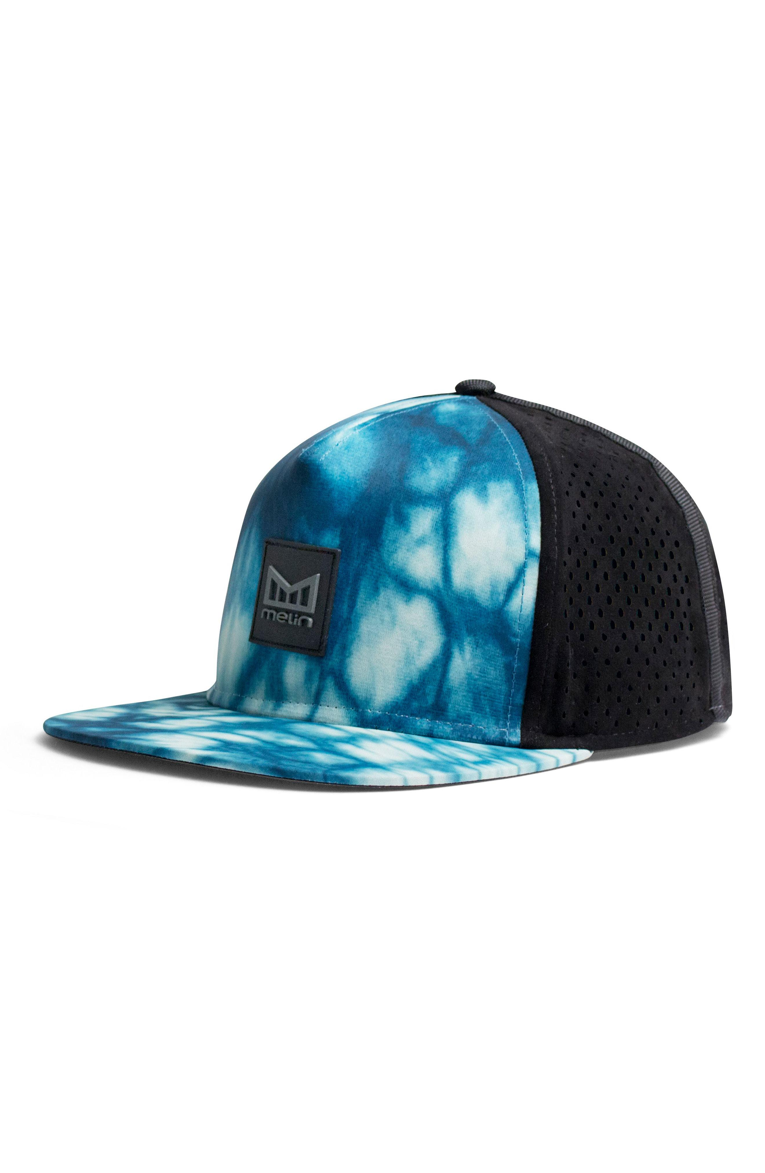 6f4a6bdf ... shopping lyst melin the nomad split fit snapback baseball cap in blue  85997 17805