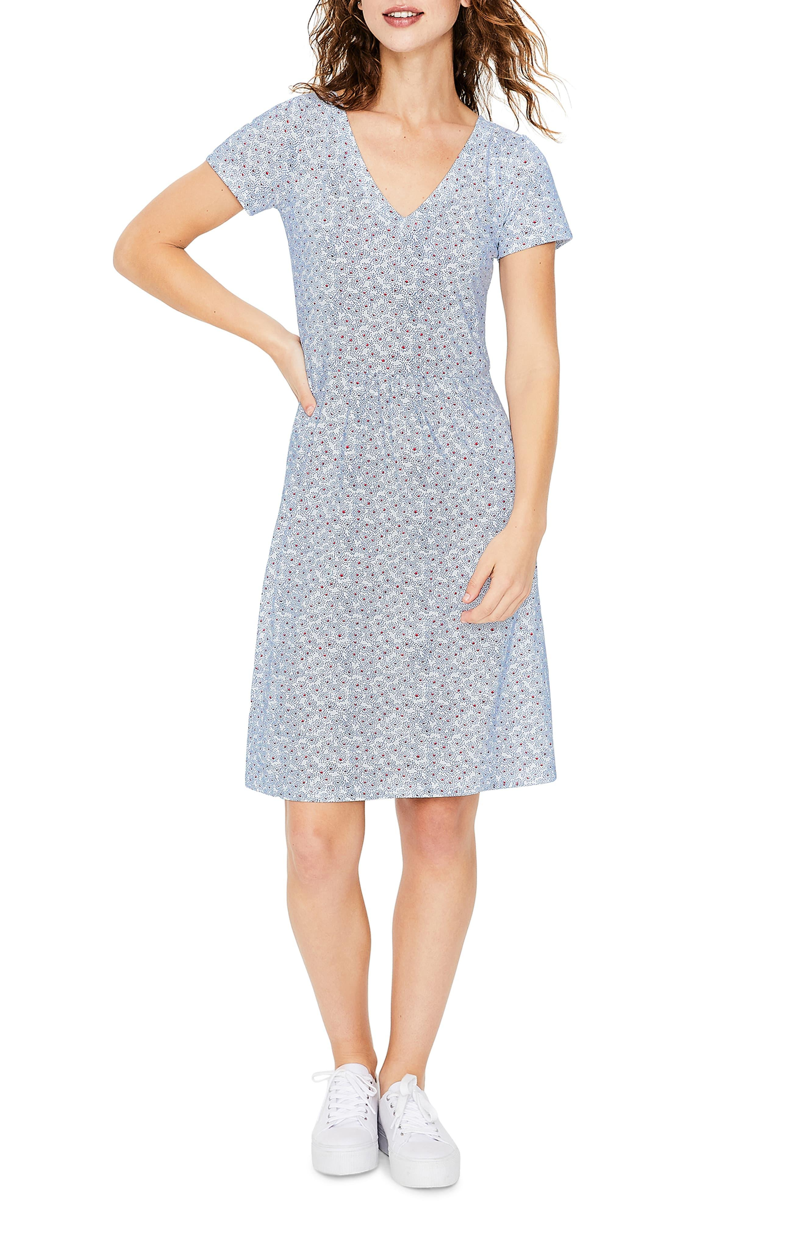 df475c1f9b6 Boden Penelope Jersey Dress in Blue - Lyst