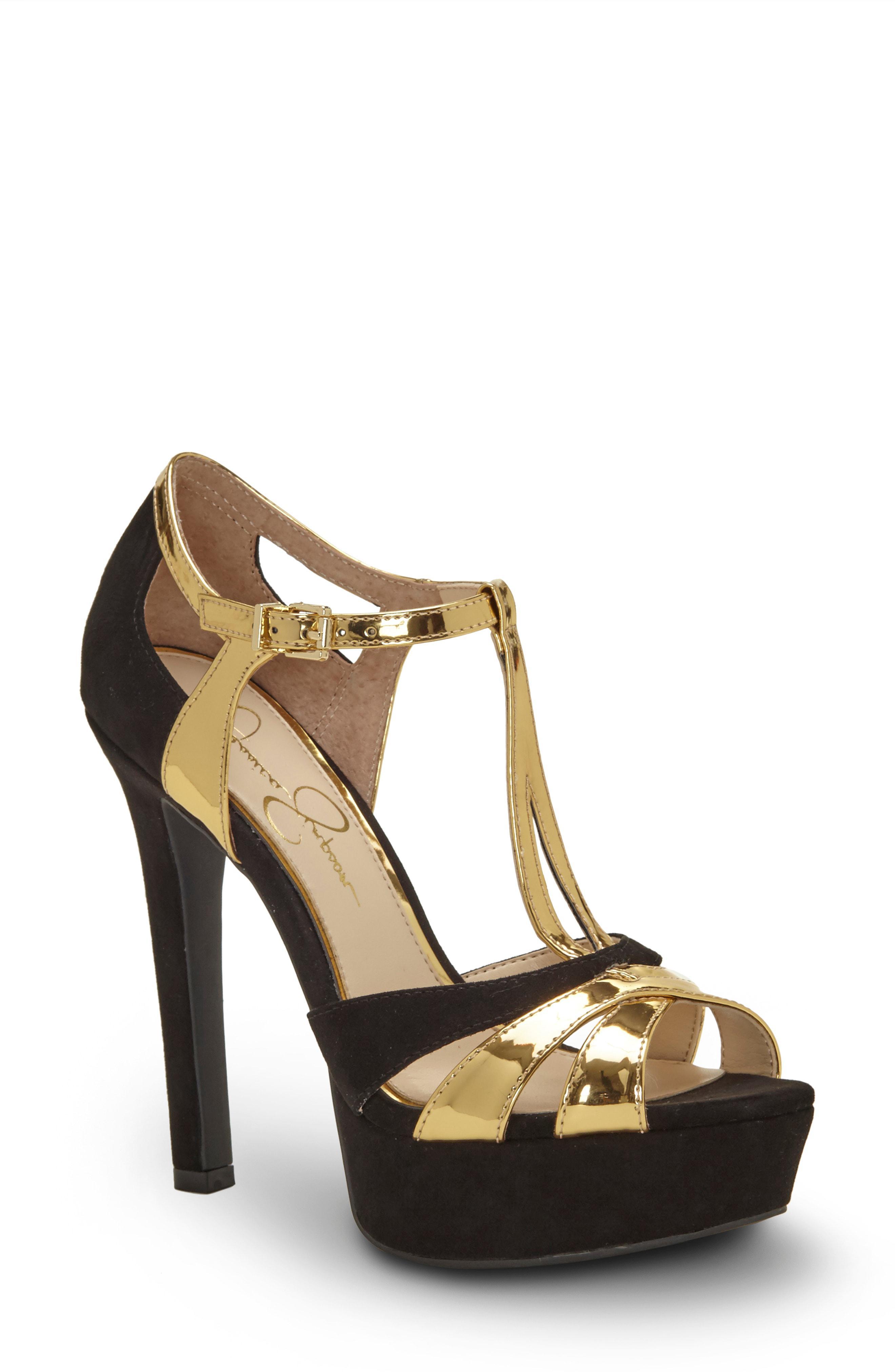 d4c11c8e122 Lyst - Jessica Simpson Bryanne Sandal in Metallic