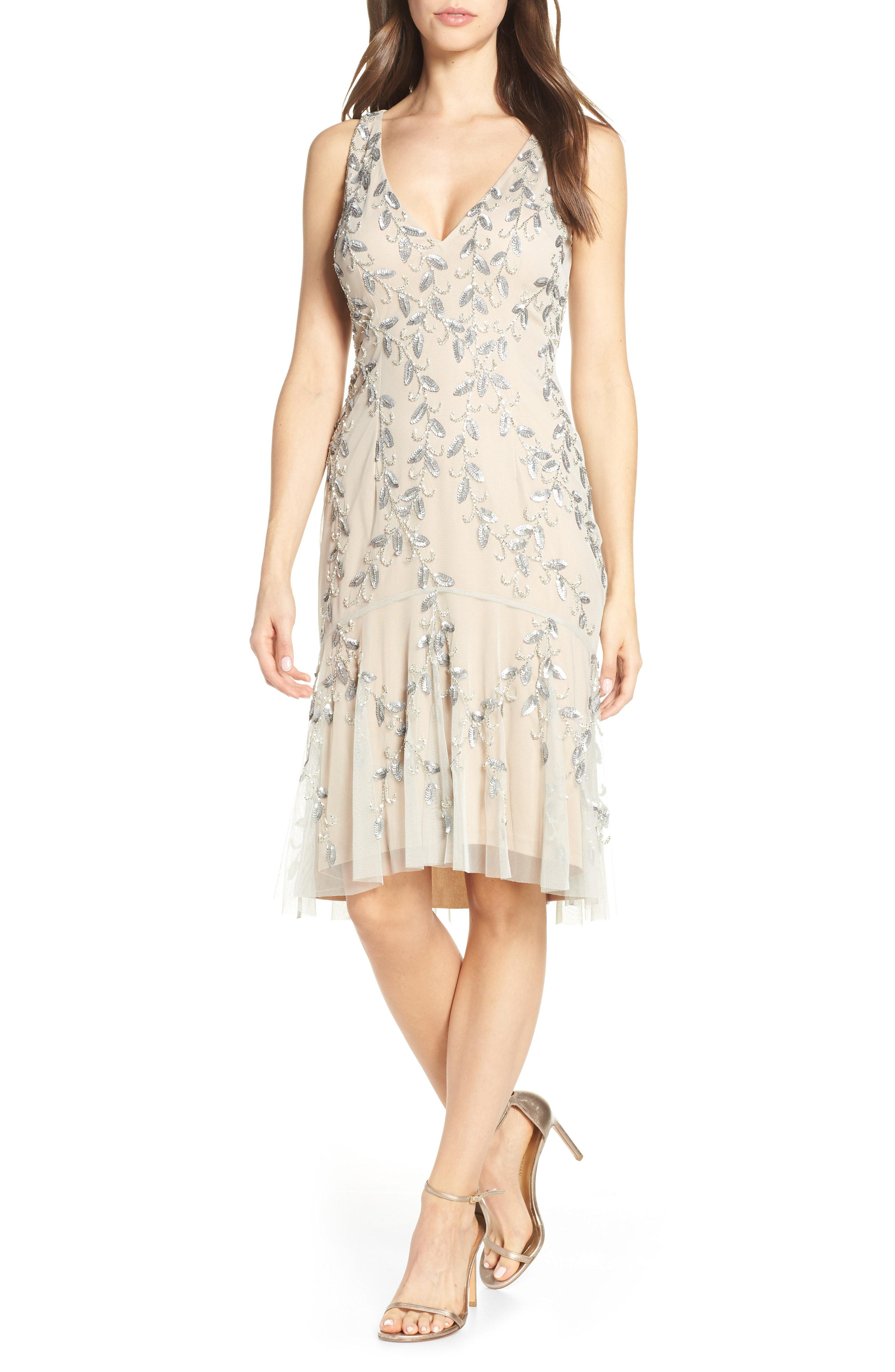 ef22d0640fc Adrianna Papell. Women s Beaded Cocktail Dress