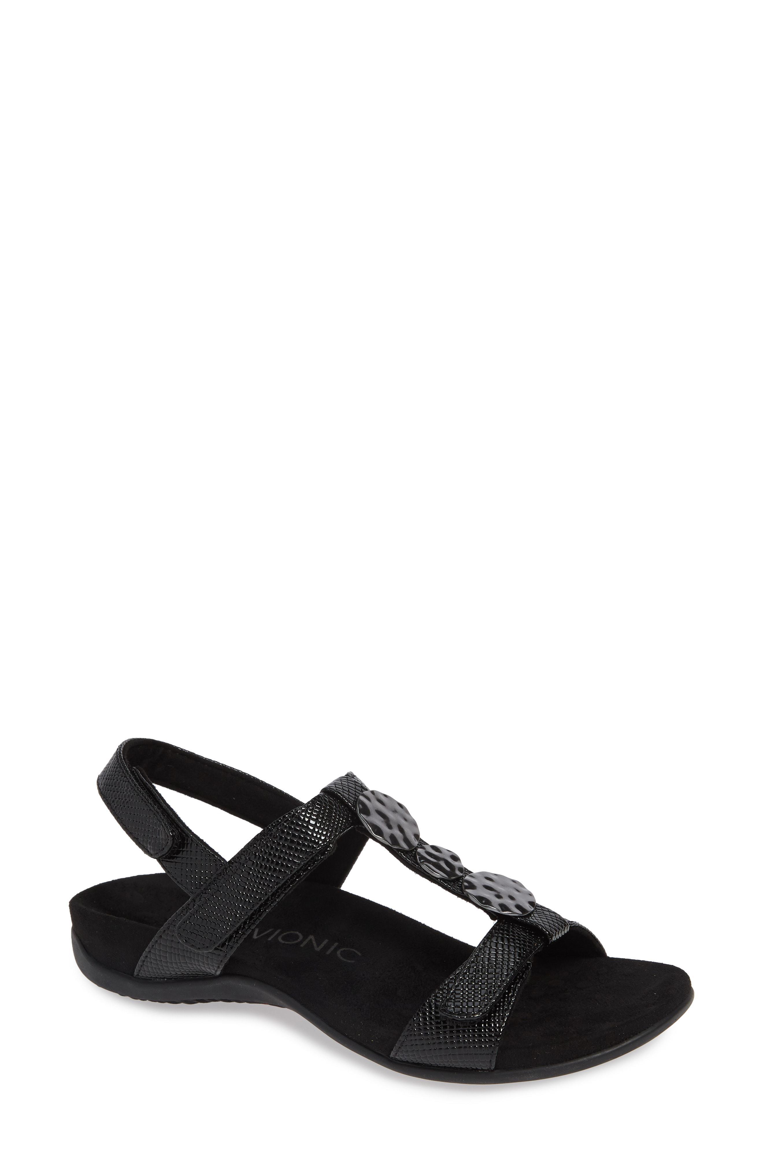 8768ad6b1597 Lyst - Vionic Farra Orthaheel Sandal in Black