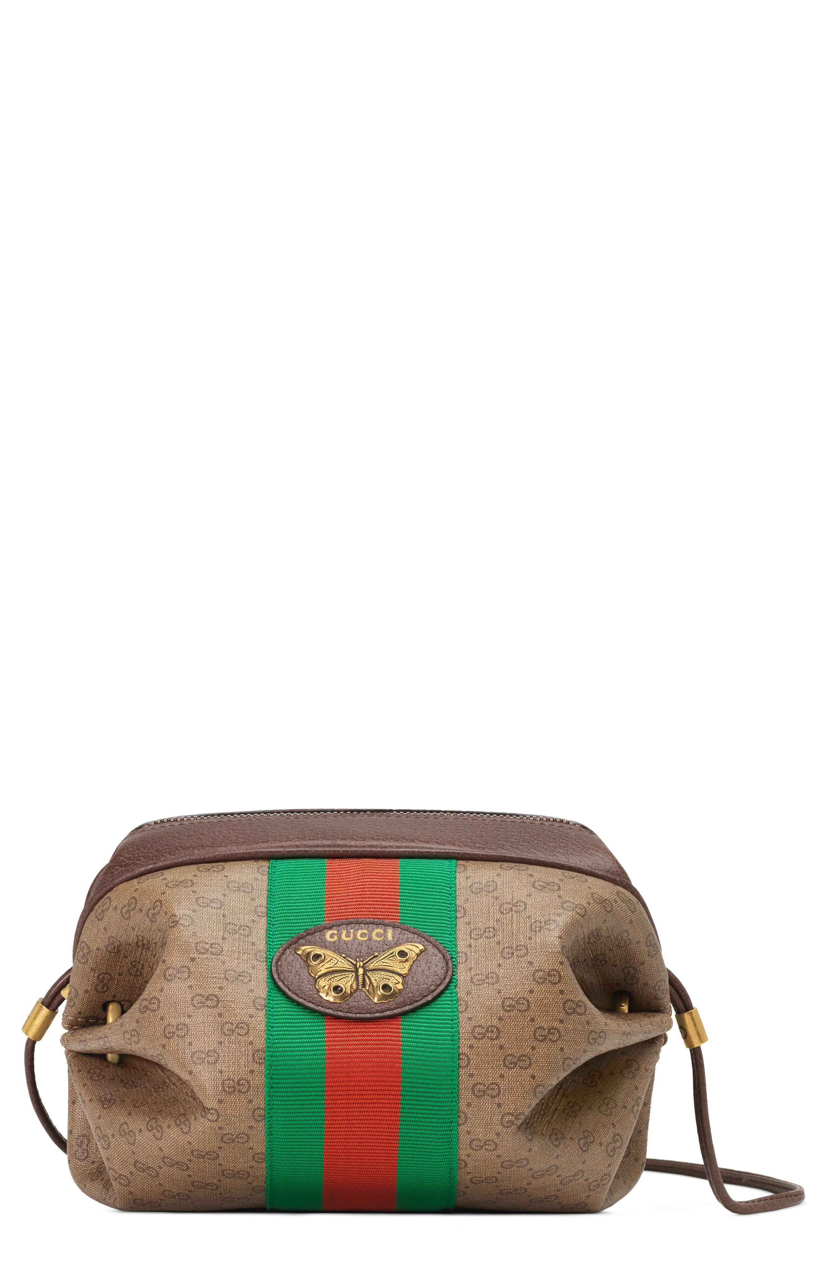 5b0e778abda4 Gucci New Candy Gg Supreme Canvas Mini Crossbody Bag - - Lyst