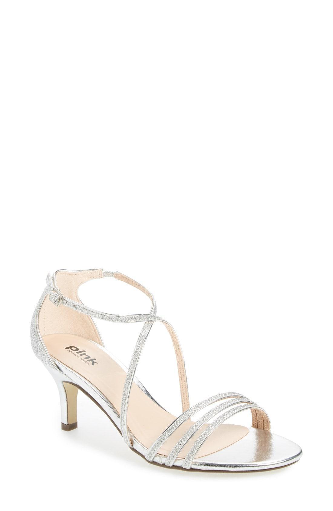 d4b7850bee2fd2 Lyst - Paradox London Pink  isla  Glitter Sandal in Metallic