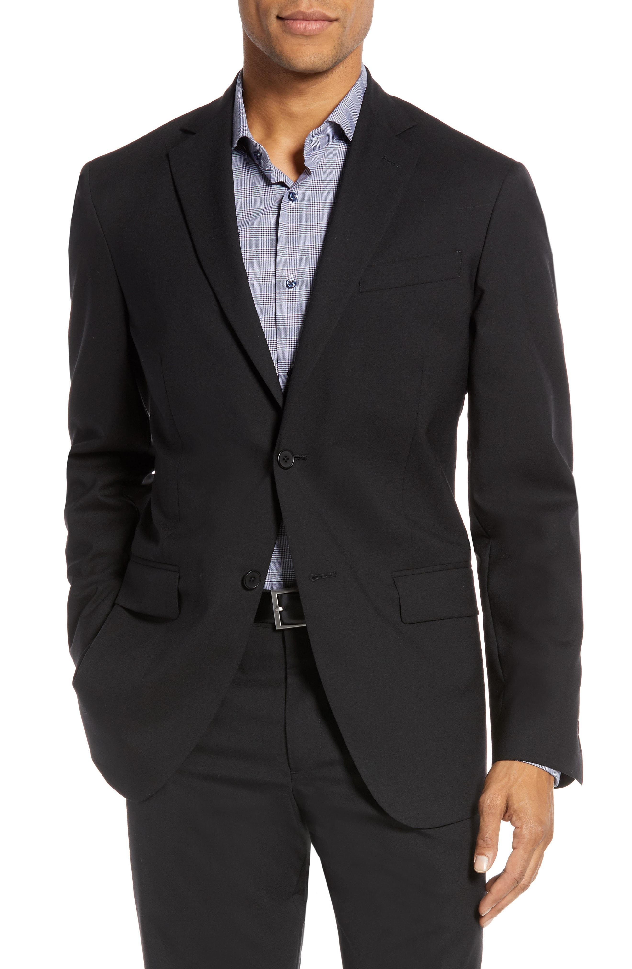 c8b90b311017 Lyst - Nordstrom Tech-smart Trim Fit Stretch Wool Travel Sport Coat ...
