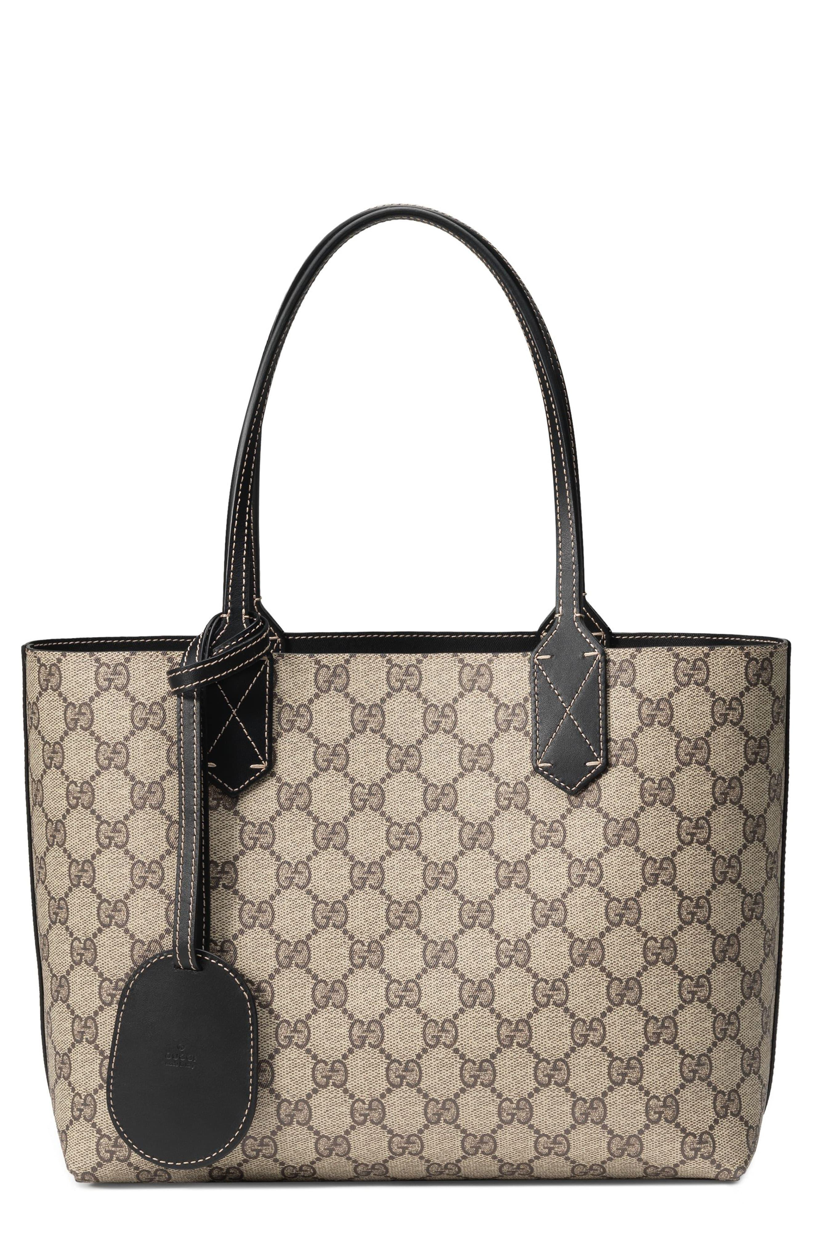d77d7d4de489ba Gucci - Multicolor Turnaround Small Reversible Leather Tote - None - Lyst.  View fullscreen
