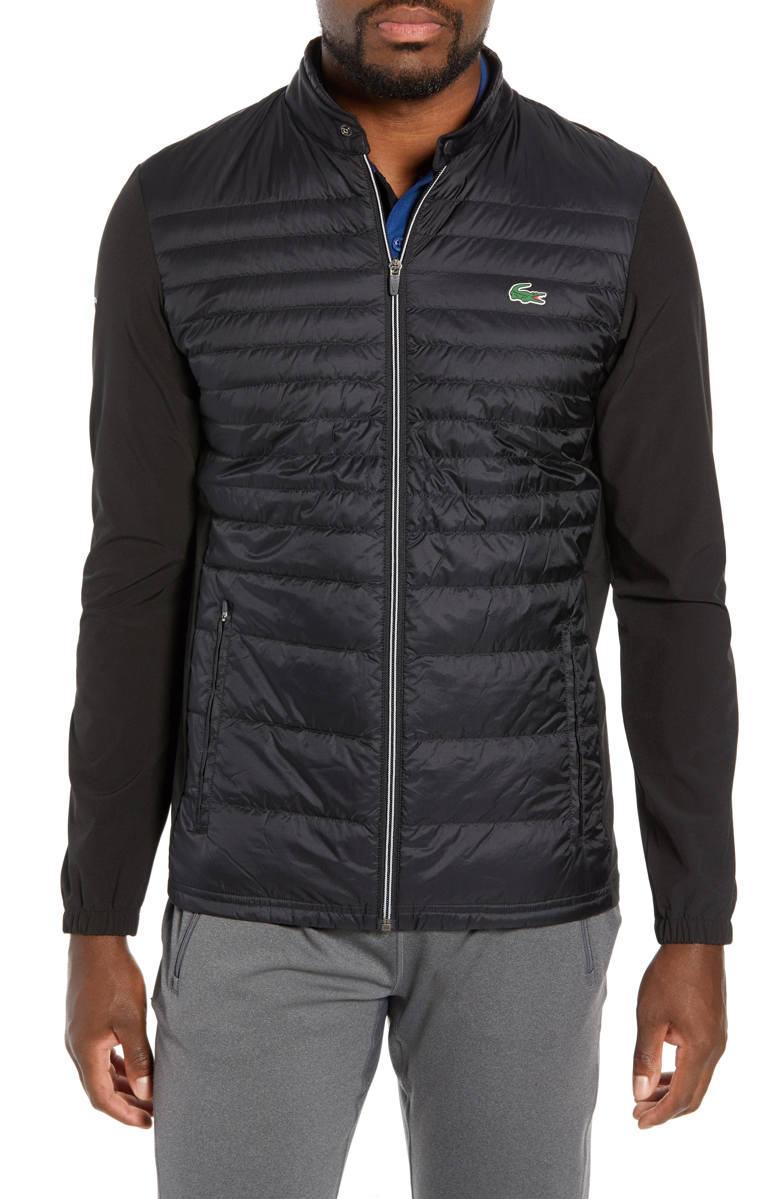 9f598f526cc5 Lyst - Lacoste Sport Water Resistant Quilted Down Golf Jacket in ...