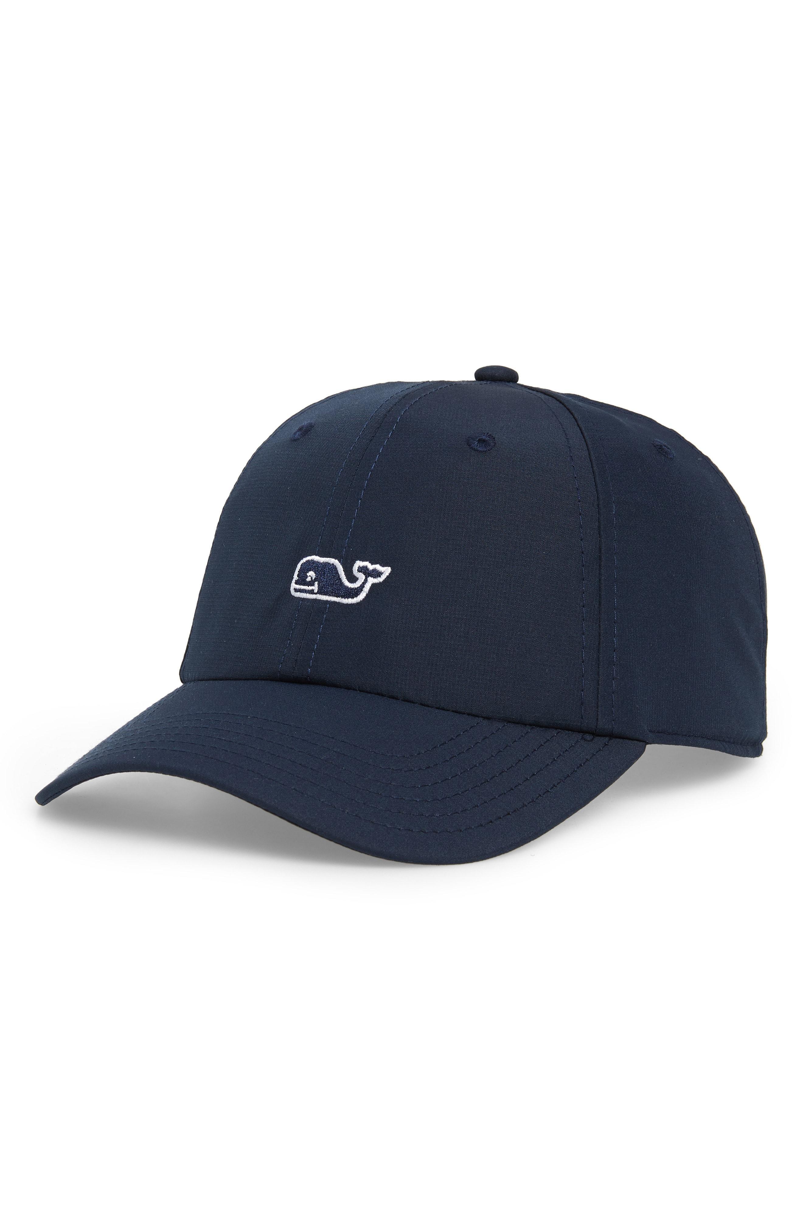 Vineyard Vines - Blue Whale Logo Baseball Cap for Men - Lyst. View  fullscreen 975021e61b59