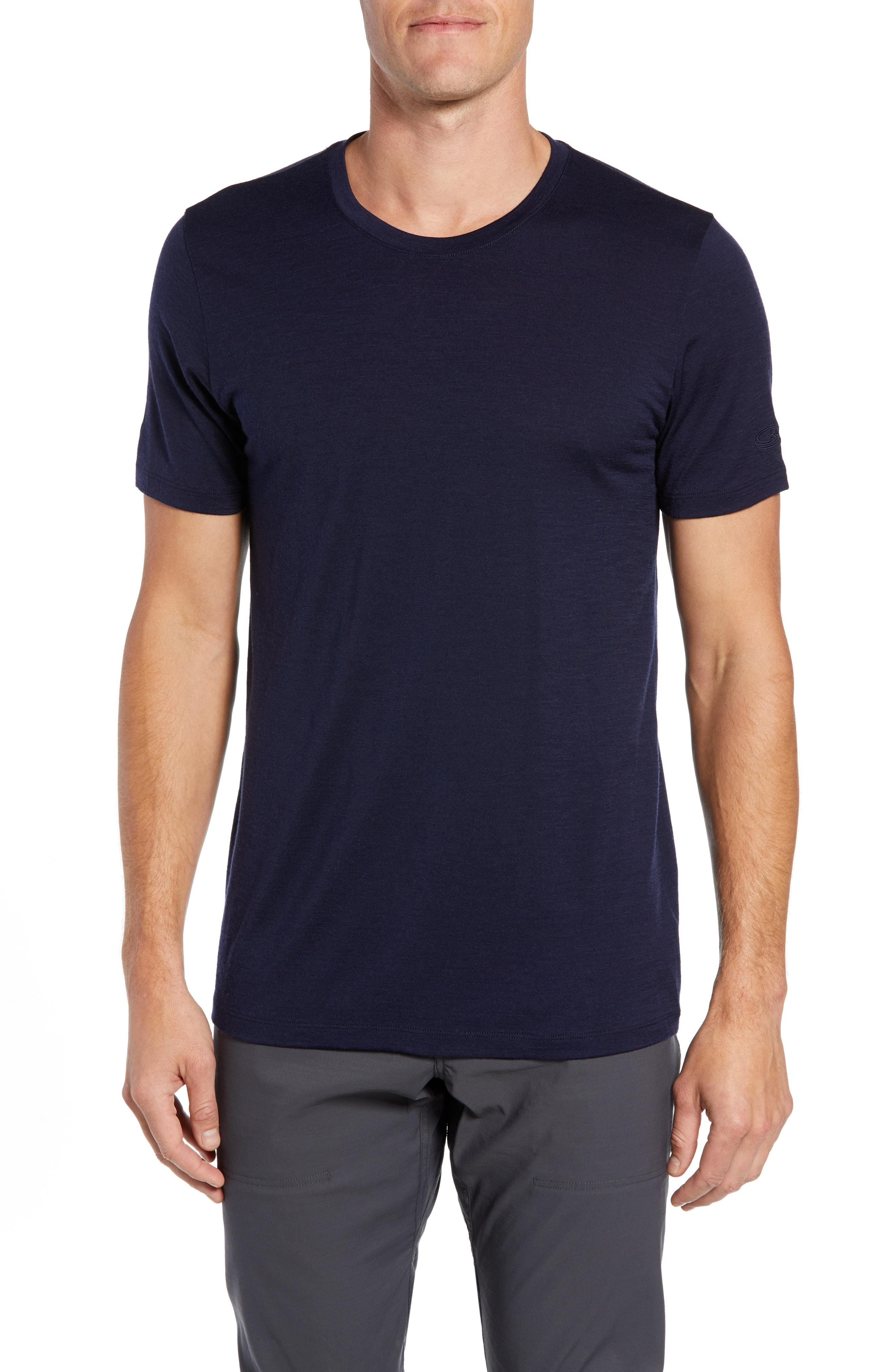 f45f12c4 Lyst - Icebreaker Tech Lite Short Sleeve Crewneck T-shirt in Blue ...