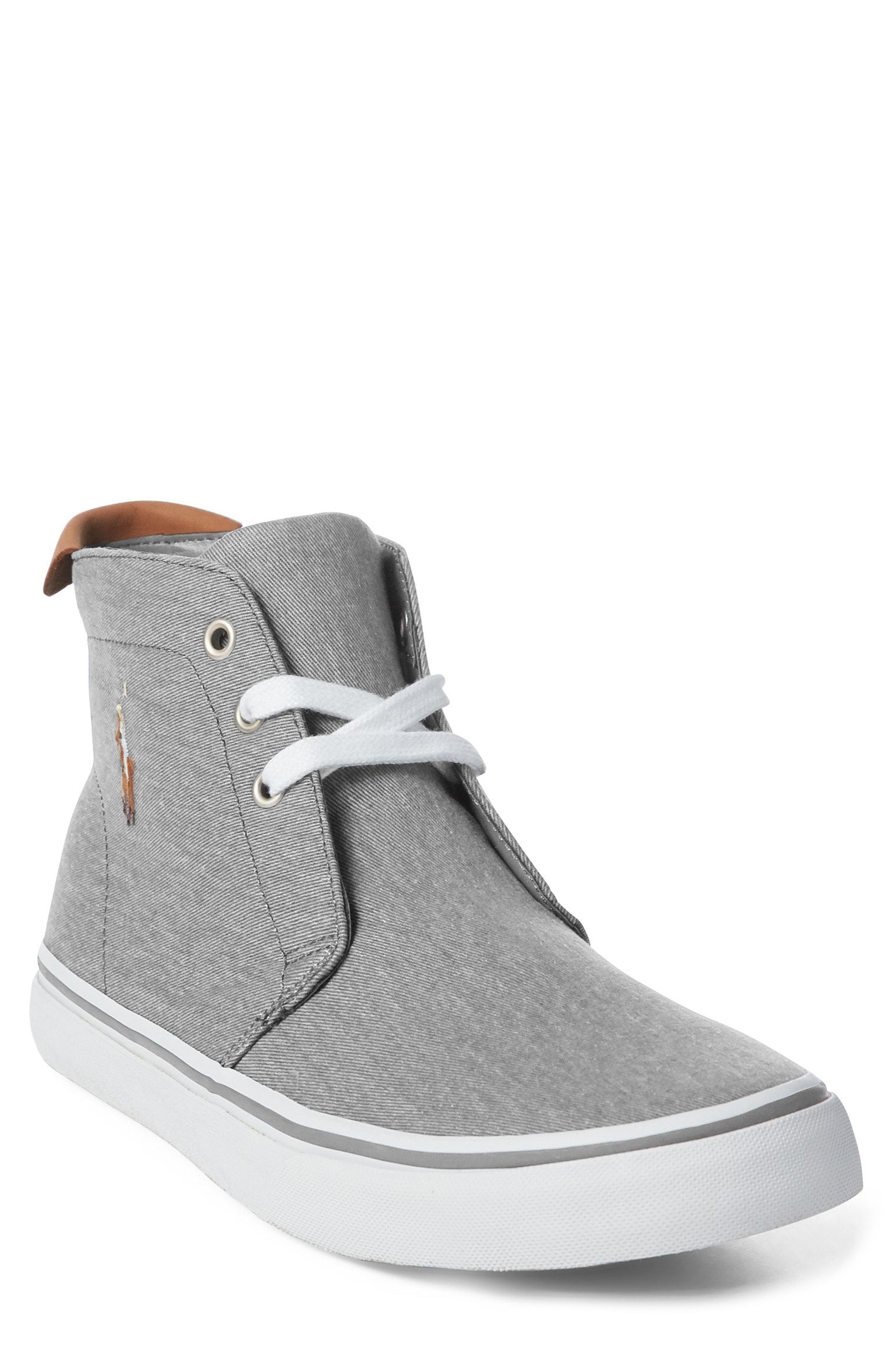 Ralph Talin Lauren Polo Blue Embroidered Sneaker Boot menIn Lyst n0wvNm8