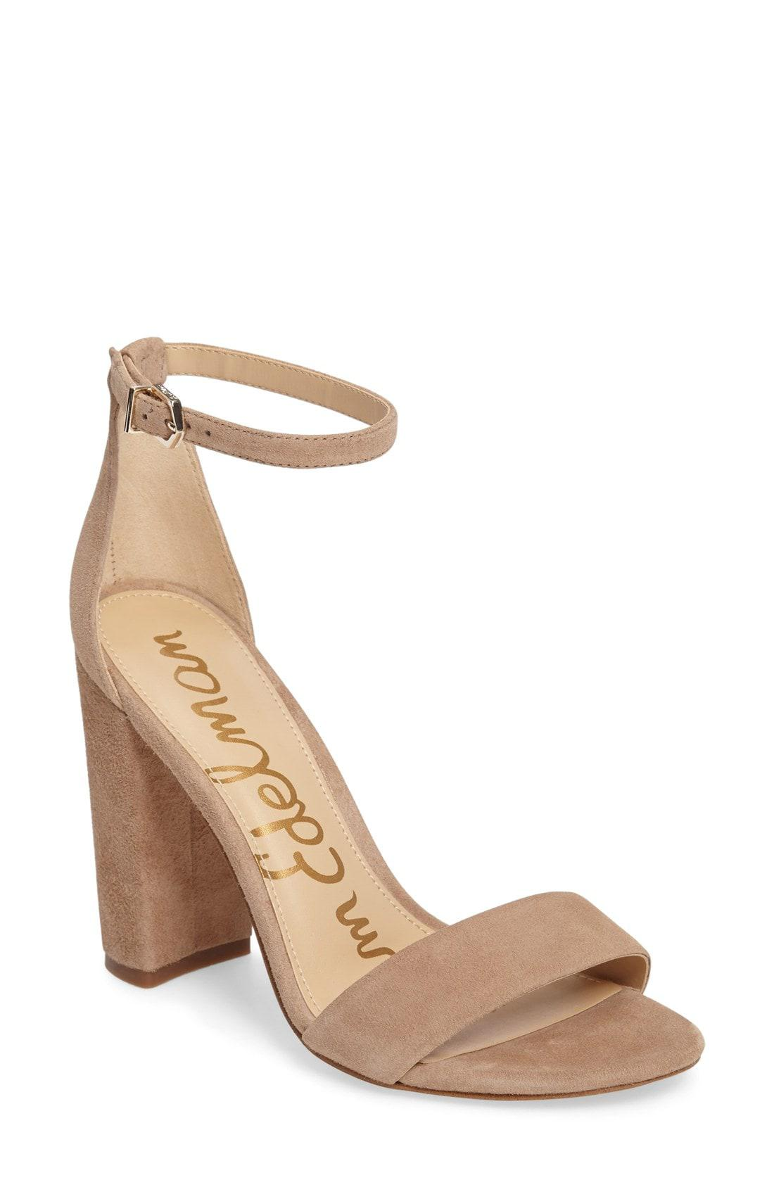 d749254209c Lyst - Sam Edelman Yaro Ankle Strap Sandal in Natural - Save 62%