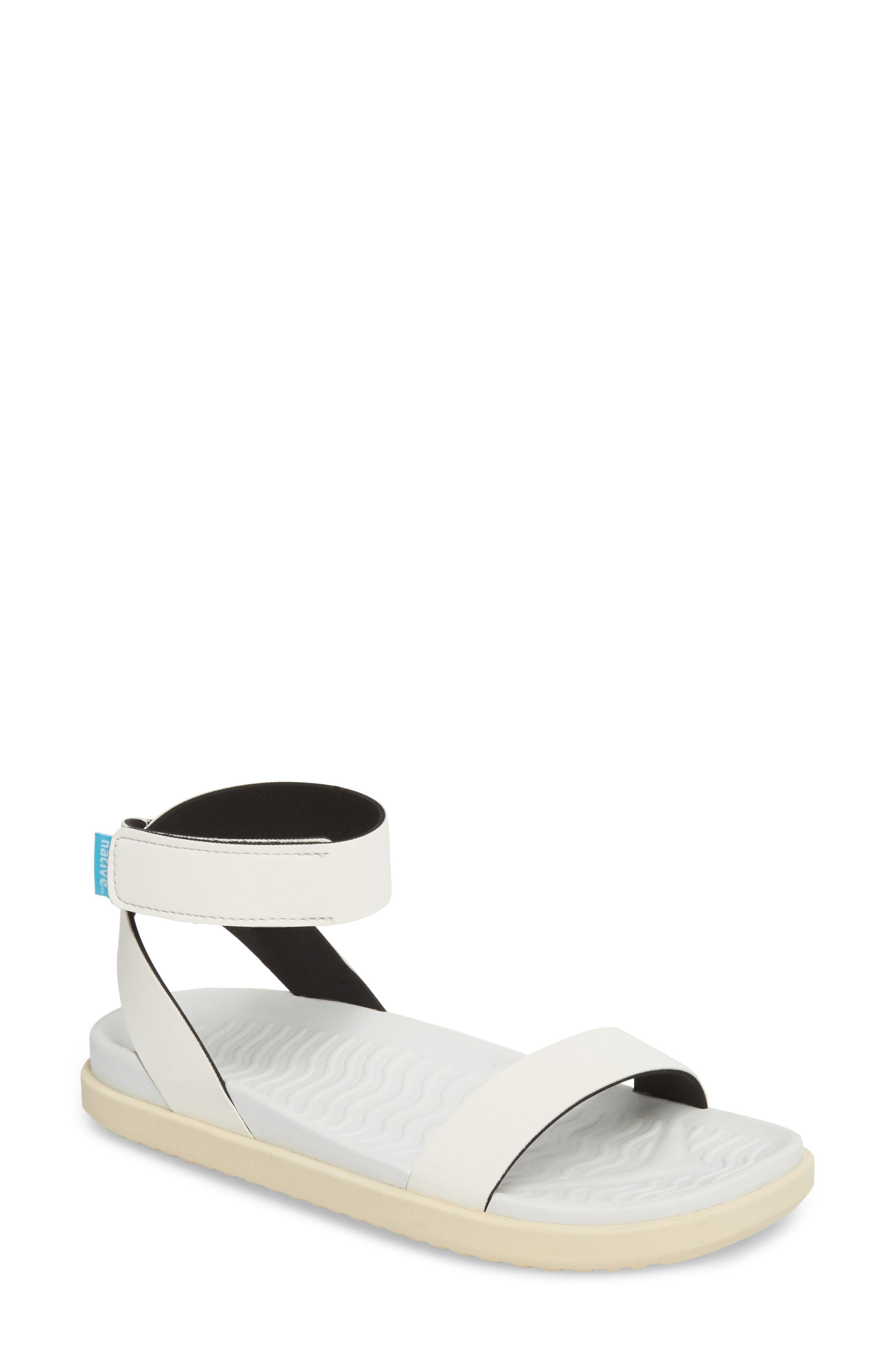 63bb9ff9180 Lyst - Native Shoes Juliet Sandal in White