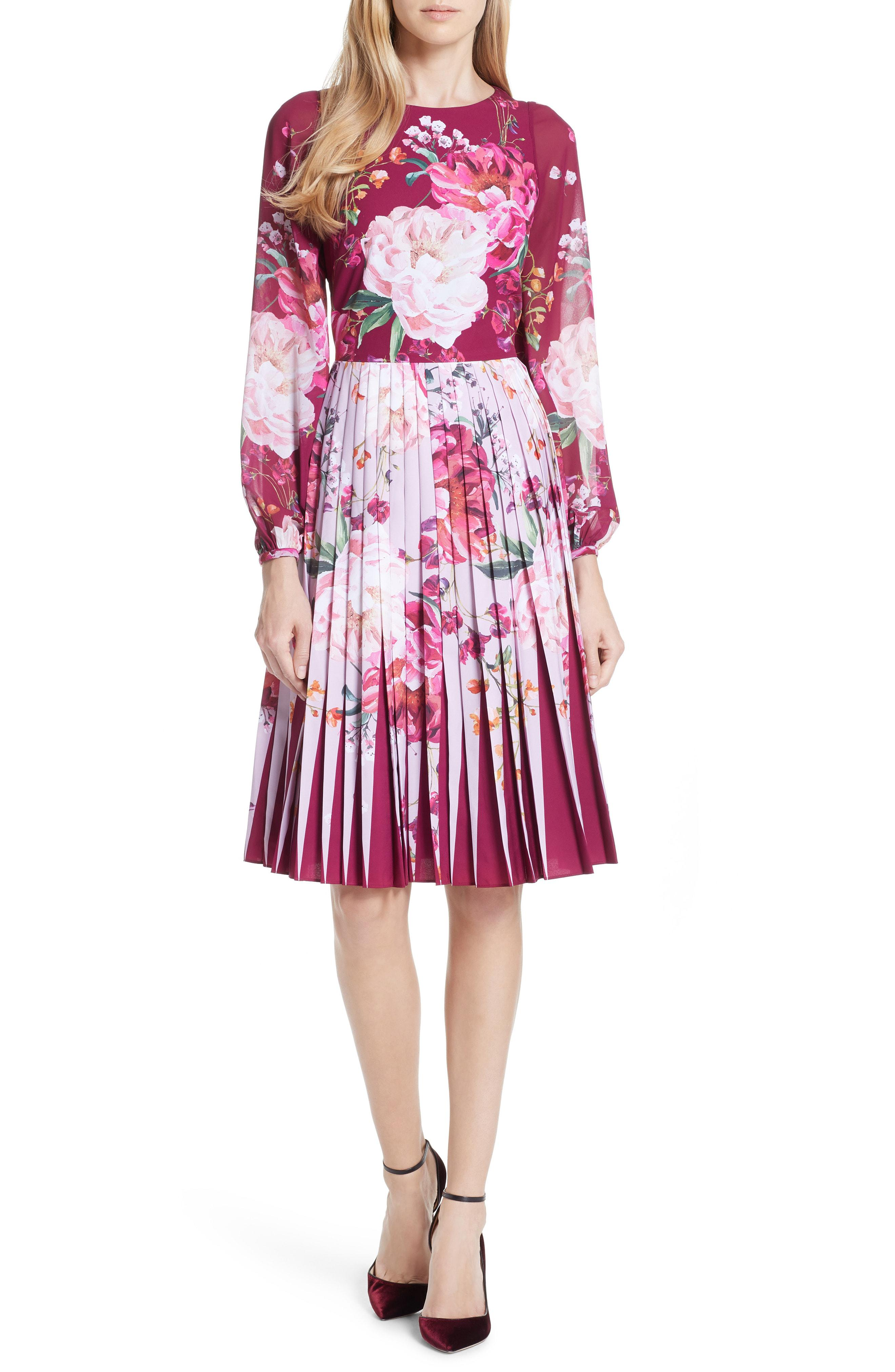 bb77eee57c45 Gallery. Previously sold at  Nordstrom · Women s Lace Panel Dresses ...