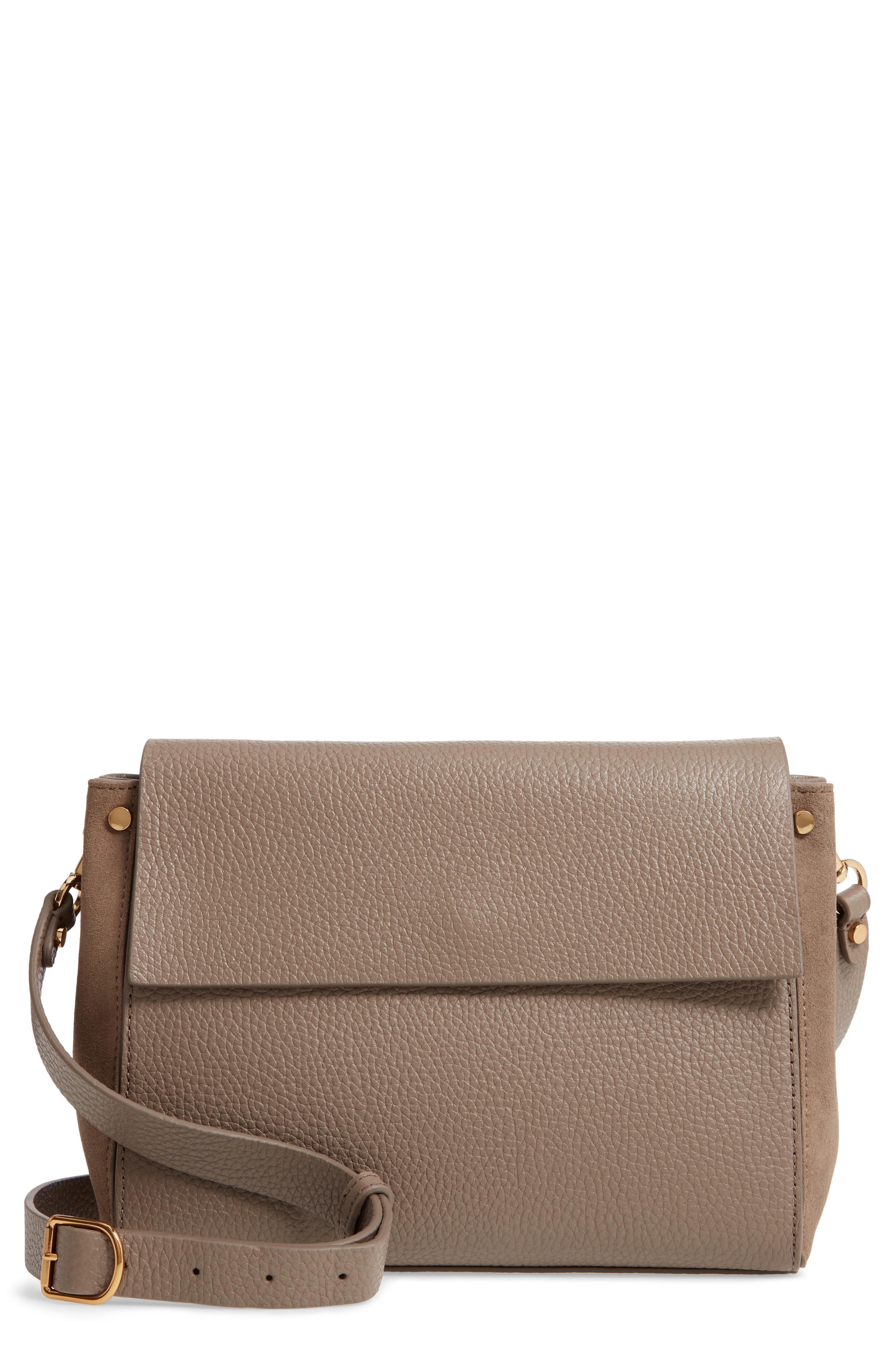 8f18f62466dd Lyst - Treasure & Bond Carly Leather Crossbody Bag - in Brown