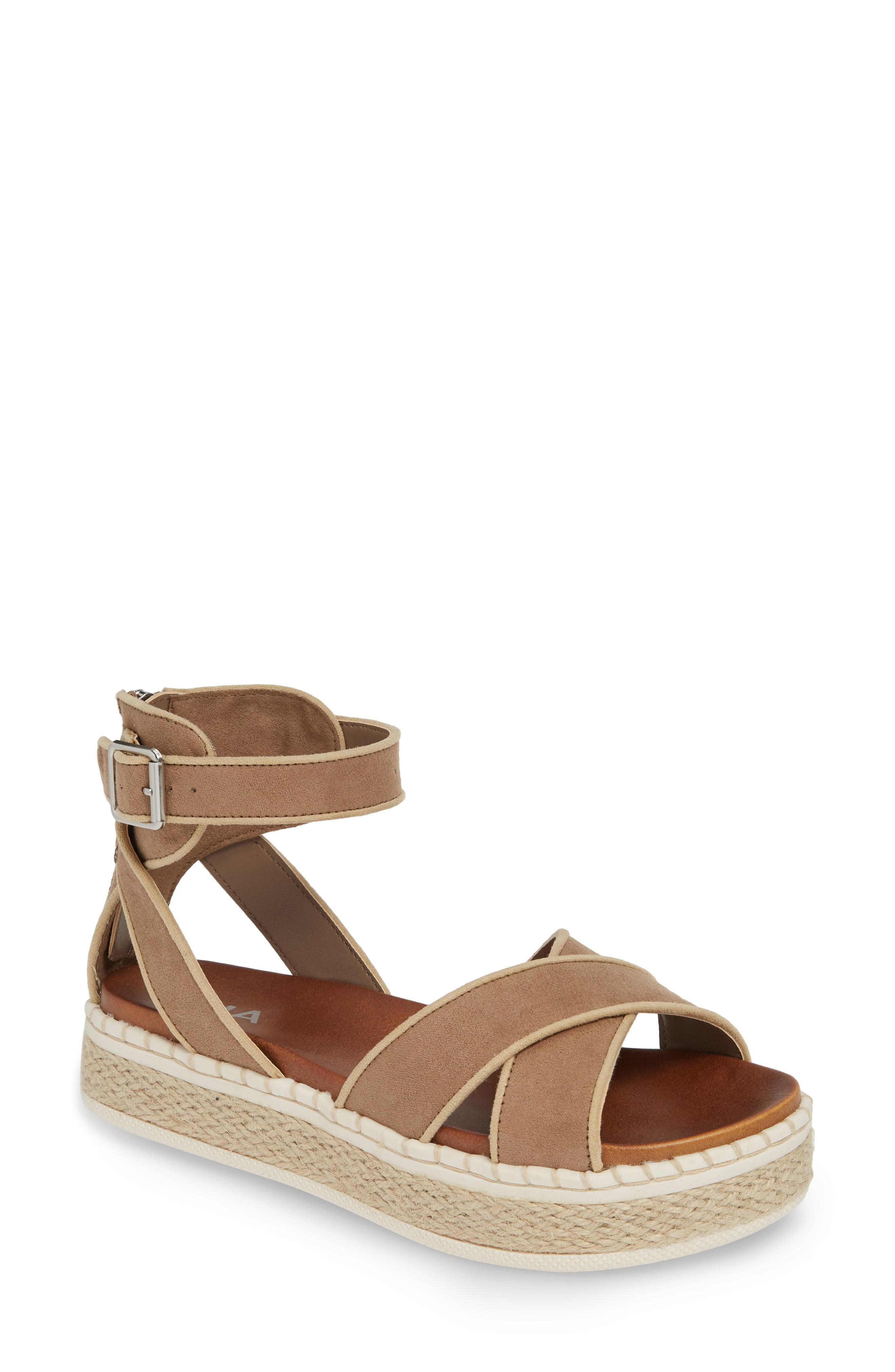 9e84cdd6f21 Lyst - MIA Vita Espadrille Platform Sandal in Brown