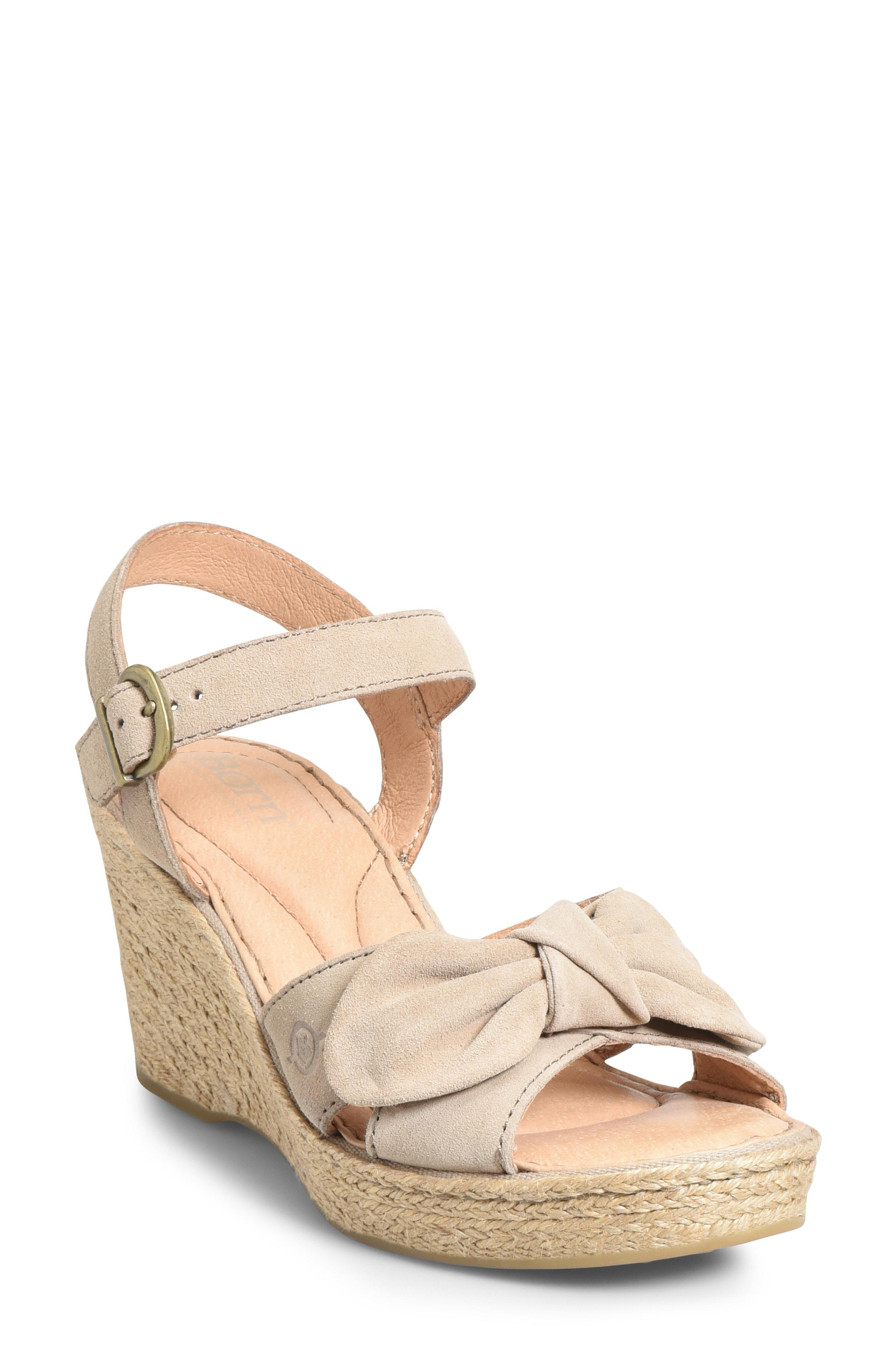 a3ed4280ee38 Born. Women s B rn Monticello Knotted Wedge Sandal