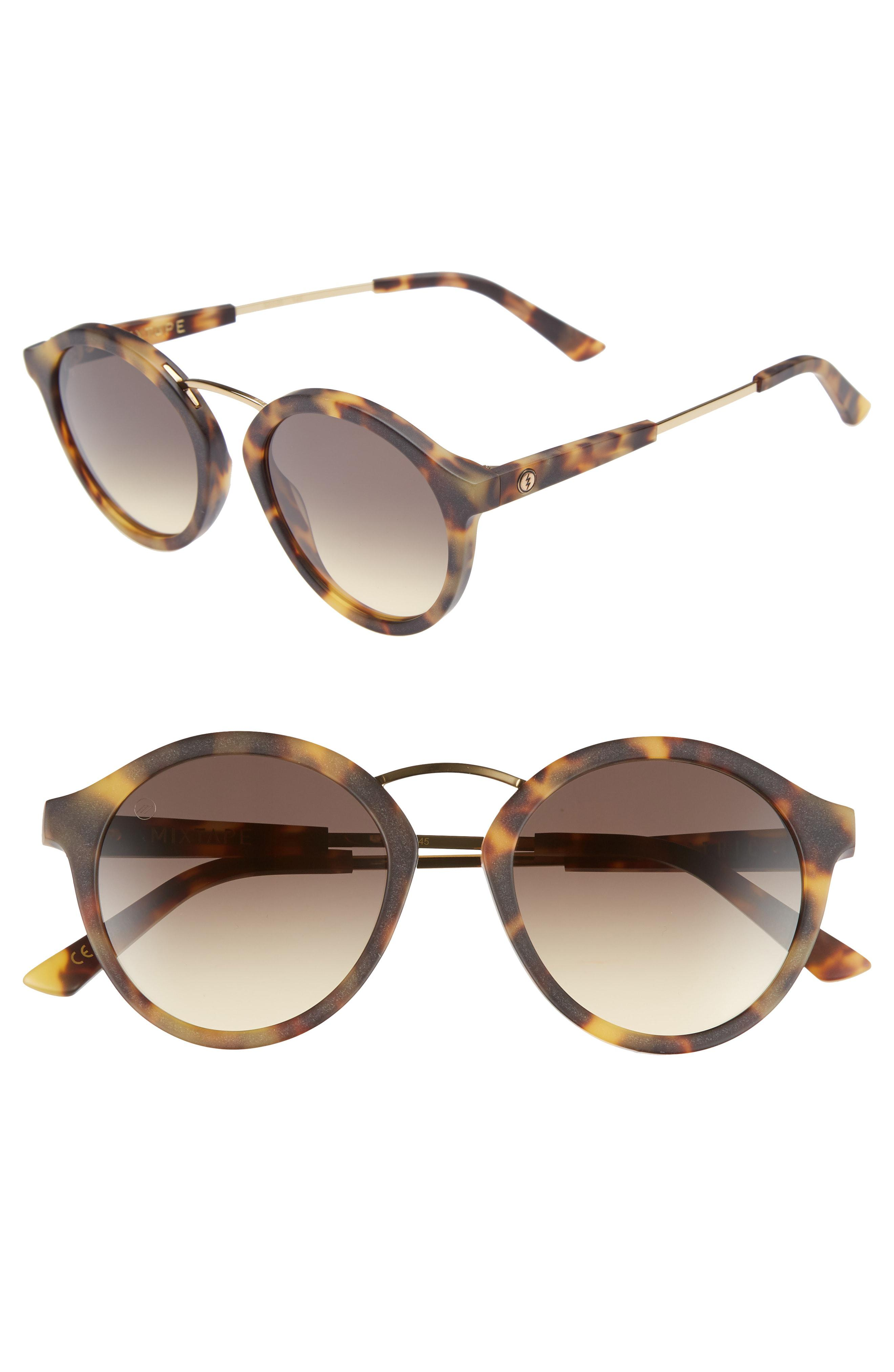 d252d492b19 Lyst - Electric Mix Tape 52mm Mirrored Round Sunglasses -