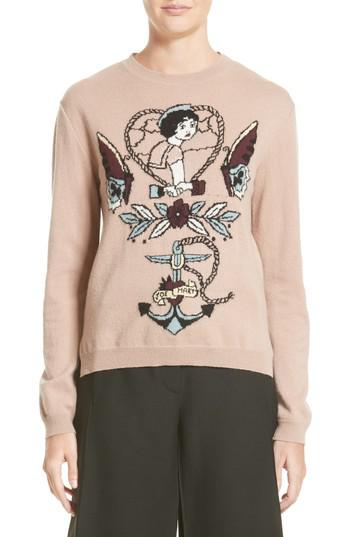 Valentino tattoo intarsia jumper Eastbay Online Browse Cheap Online Outlet 100% Authentic Discount Aaa fD4EPtWif