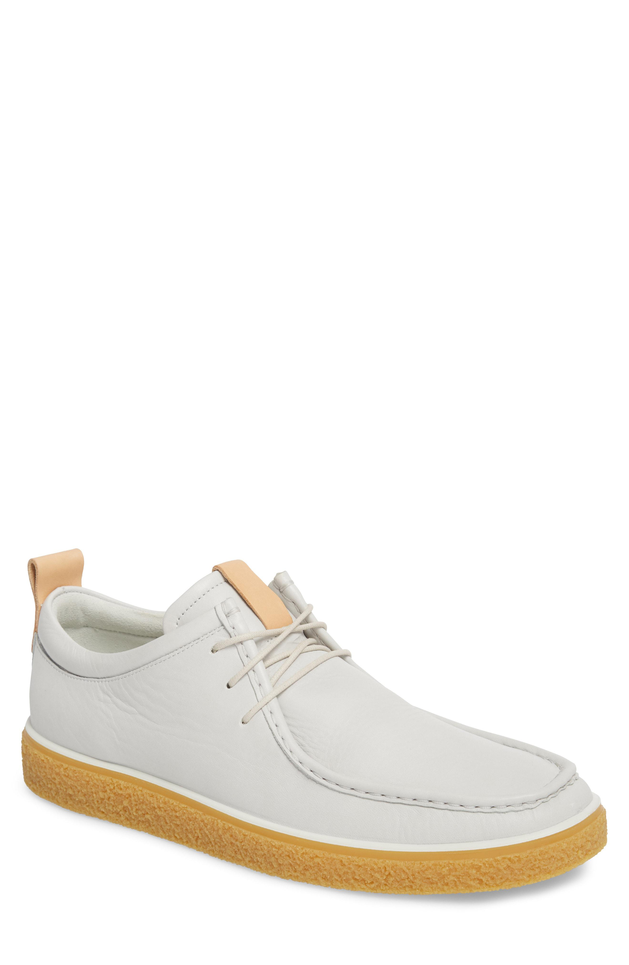 00ab2ee5ebb0 Ecco Crepetray Moc Toe Low Chukka Boot in White for Men - Lyst