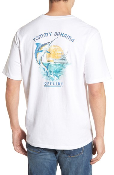 Tommy Bahama 39 Offline 39 Graphic T Shirt In Red For Men Lyst