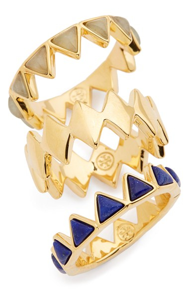 Tory Burch Puzzle Ring Set