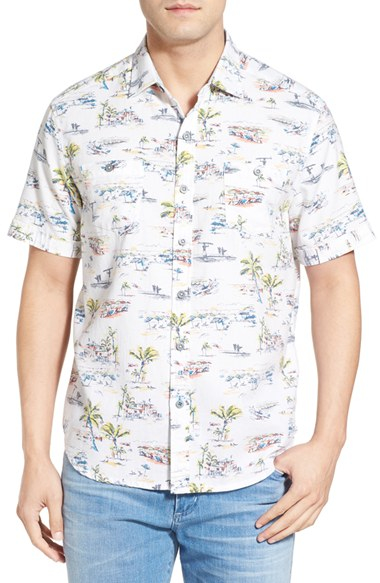 Lyst tommy bahama 39 retro bungalow cruiser 39 island modern for Where to buy tommy bahama shirts