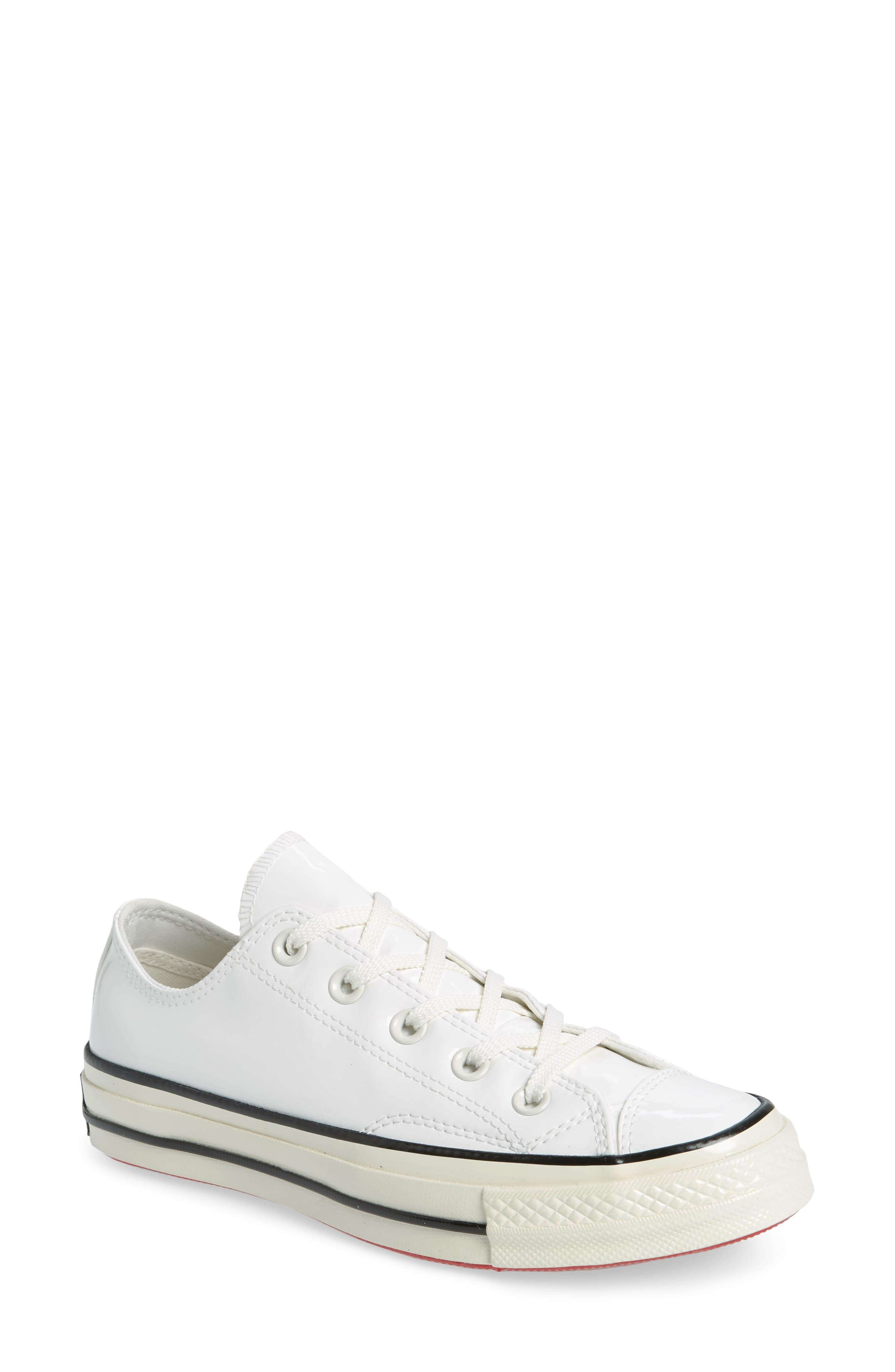 8a532c5d4071c Converse Chuck Taylor All Star 70 Patent Low Top Sneaker in White ...