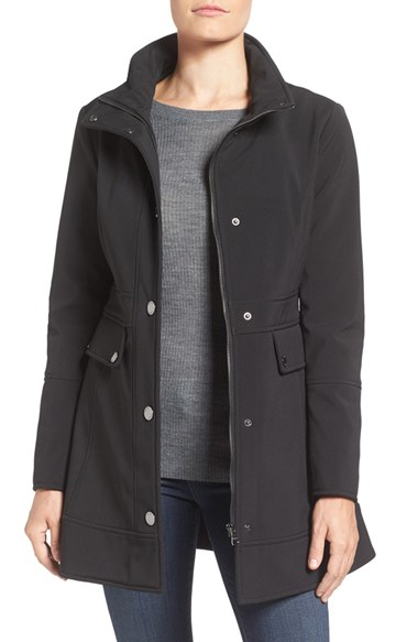 Guess Soft Shell Jacket In Black Lyst