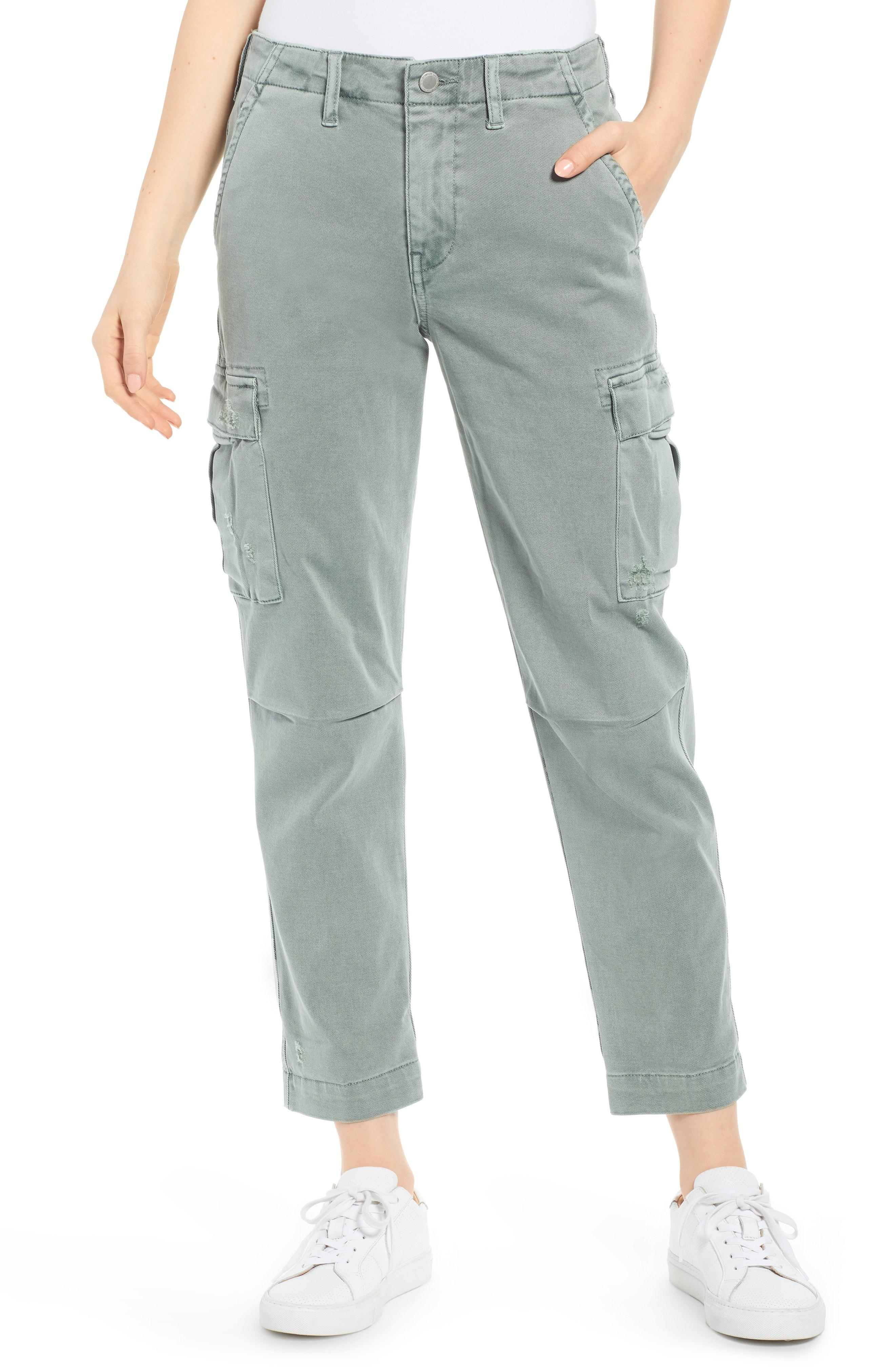 474895a3943b7 Lyst - Hudson Jeans Jane Relaxed Cargo Pants in Green
