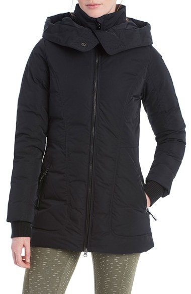 Lyst Lol 235 Nicky Hooded Insulated Jacket In Black