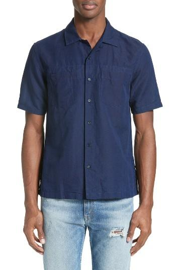 Levi 39 s levi 39 s made crafted tm riviera camp shirt in for Levis made and crafted shirt